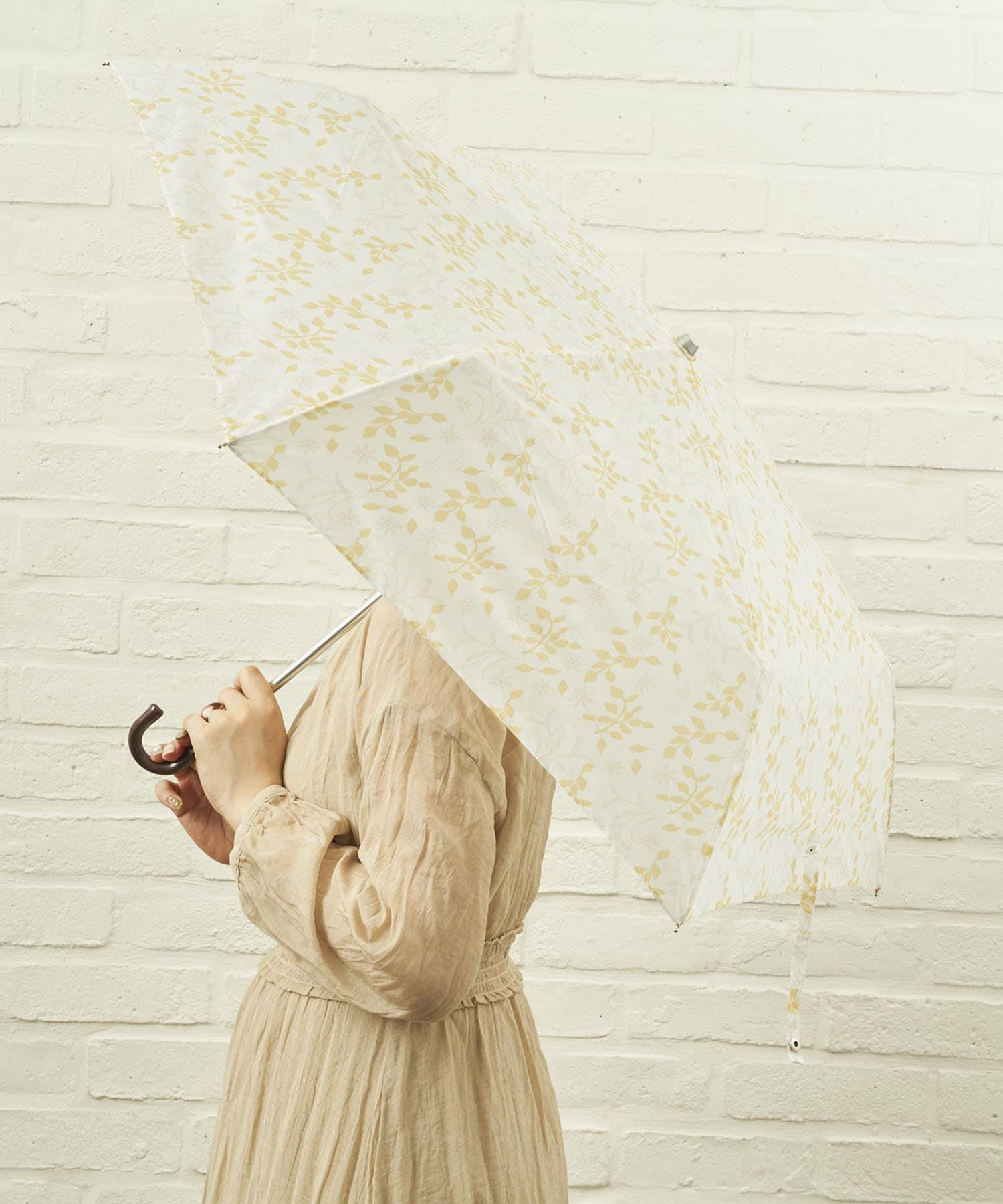 salut!(サリュ) ライフスタイル 雨傘折フラワー(アイボリー) その他