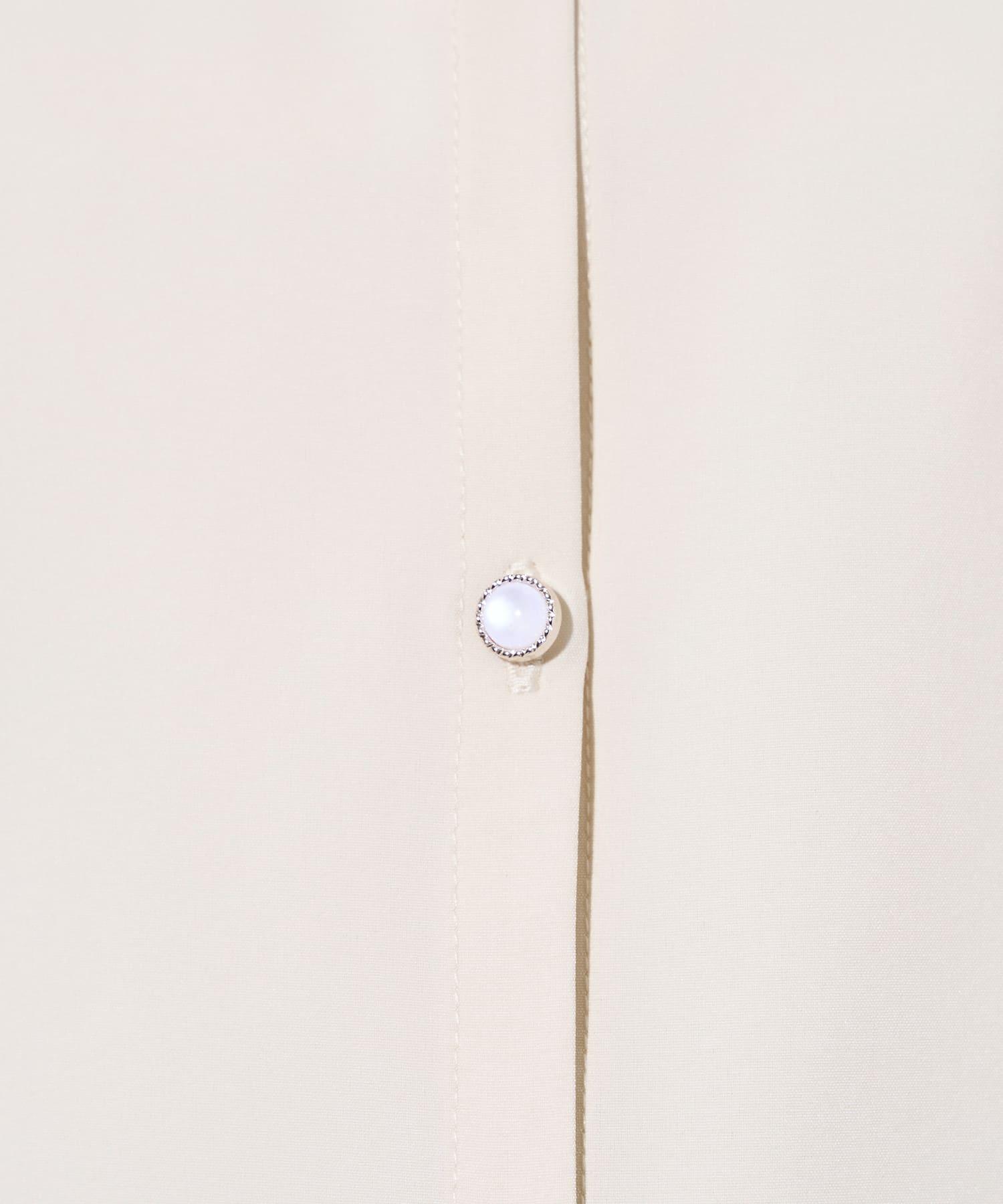 OLIVE des OLIVE(オリーブ デ オリーブ) ボウタイ衿レース5分袖ブラウス
