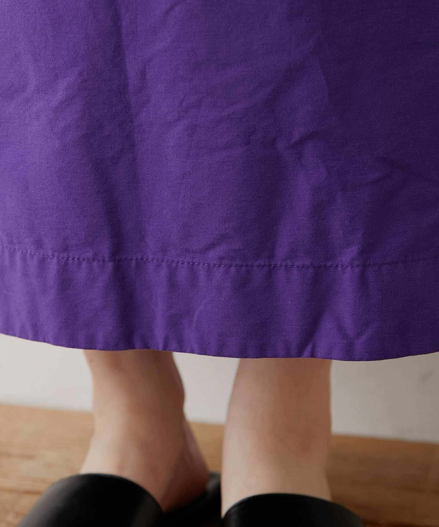 OUTLET(アウトレット) 【CIAOPANIC TYPY】綿ナイロンアウトポケットIラインスカート