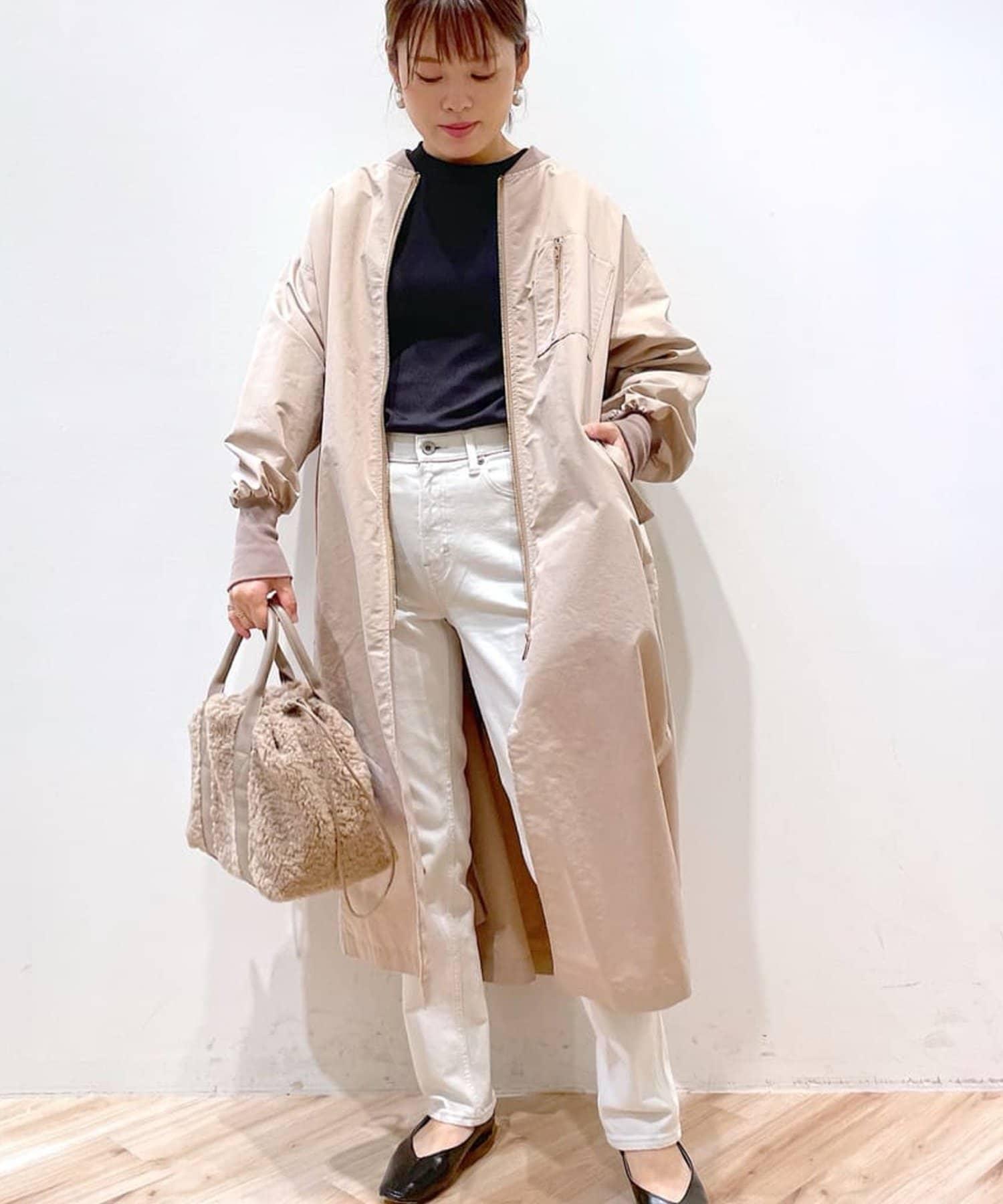un dix cors(アンディコール) 【kiara(キアラ)】ボア切替ショルダーバッグ