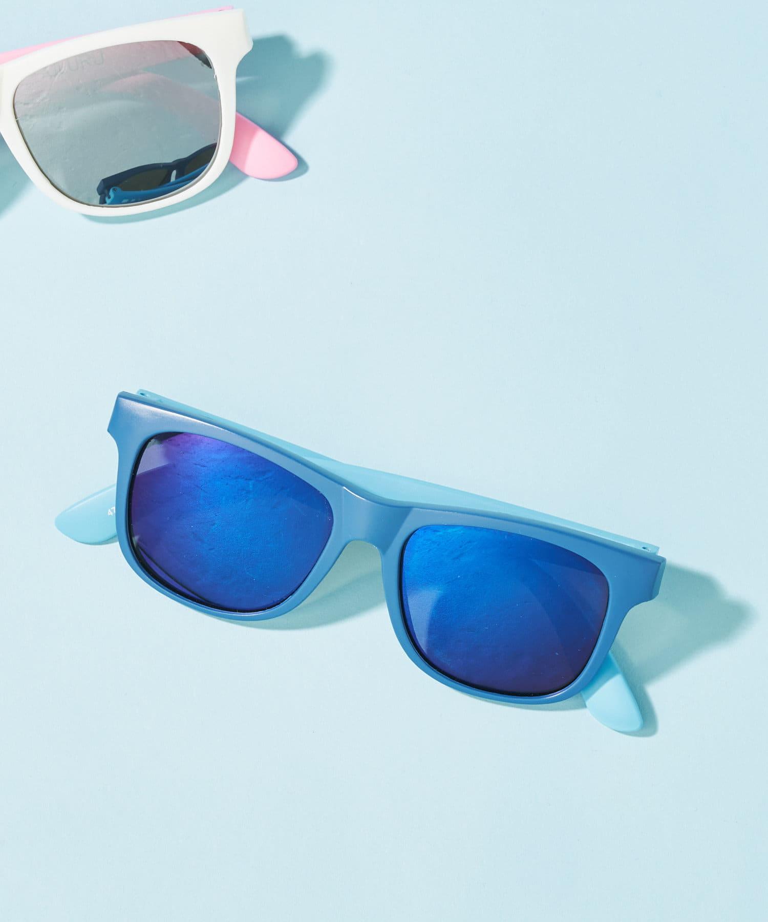 BONbazaar(ボンバザール) キッズ 《キッズ》【delieb】Sunglasses ULURU NVM/BLM カラーなし