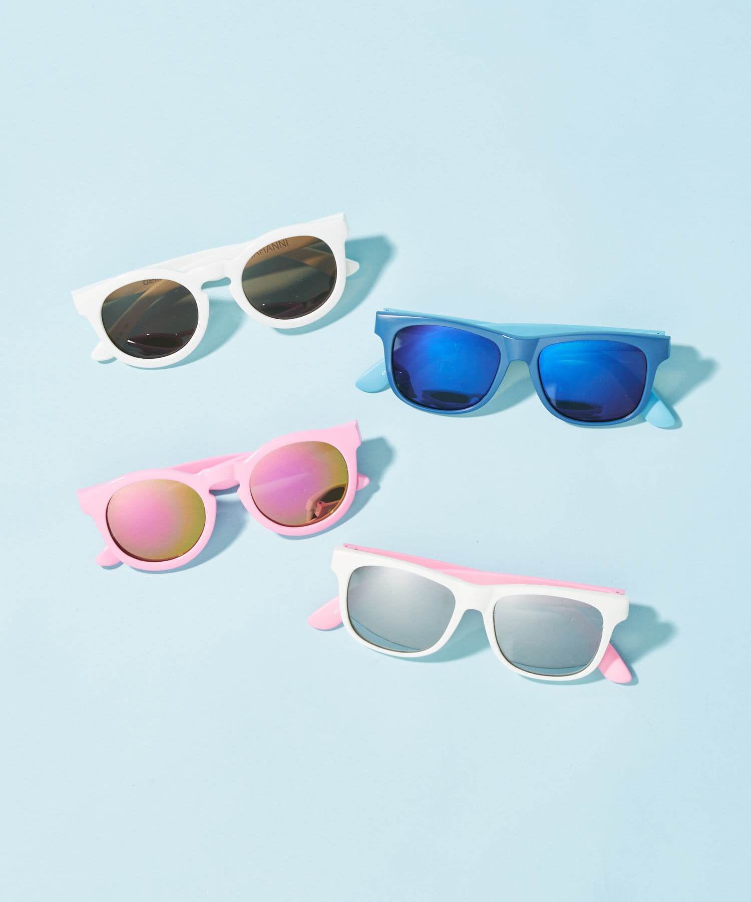 BONbazaar(ボンバザール) 《キッズ》【delieb】Sunglasses ULURU WHPK/SVM