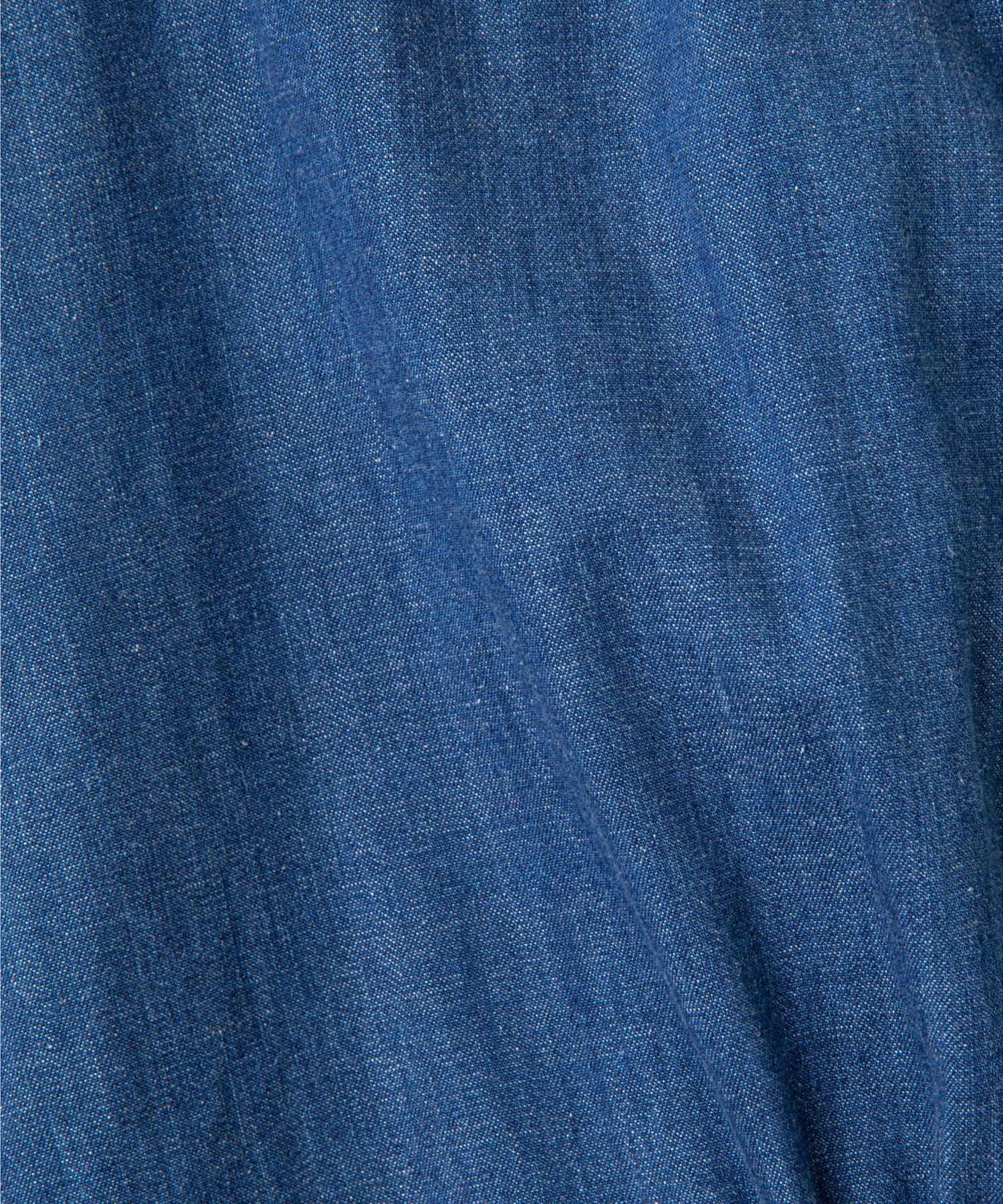 GALLARDAGALANTE(ガリャルダガランテ) 【HERITANOVUM】デニムショールシャツ