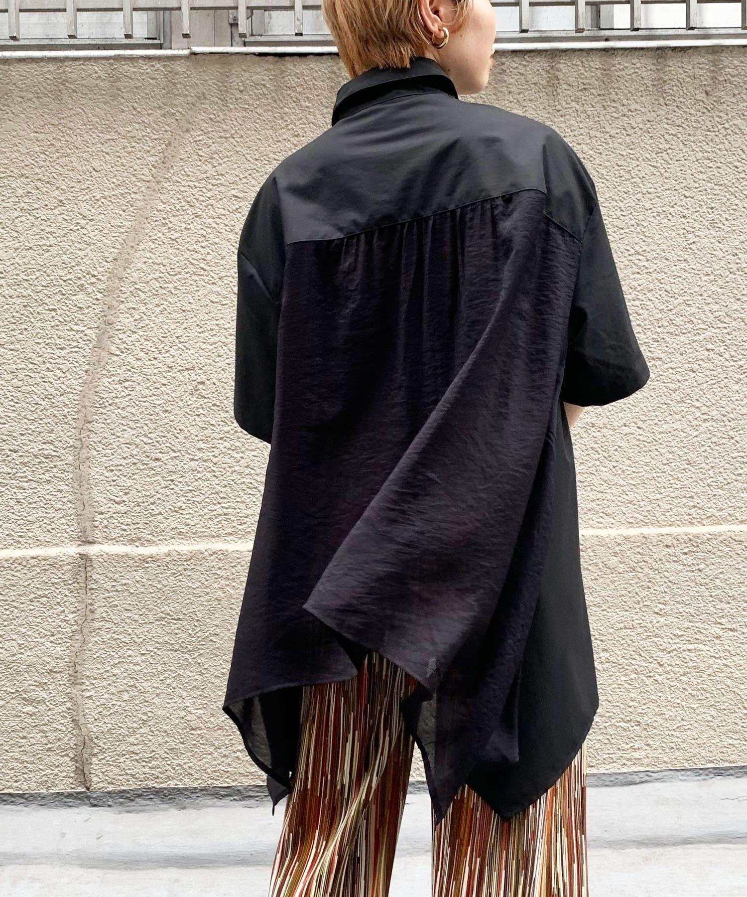 Thevon(ゼヴォン) 【WEB限定】バックシアーイレヘムシャツ