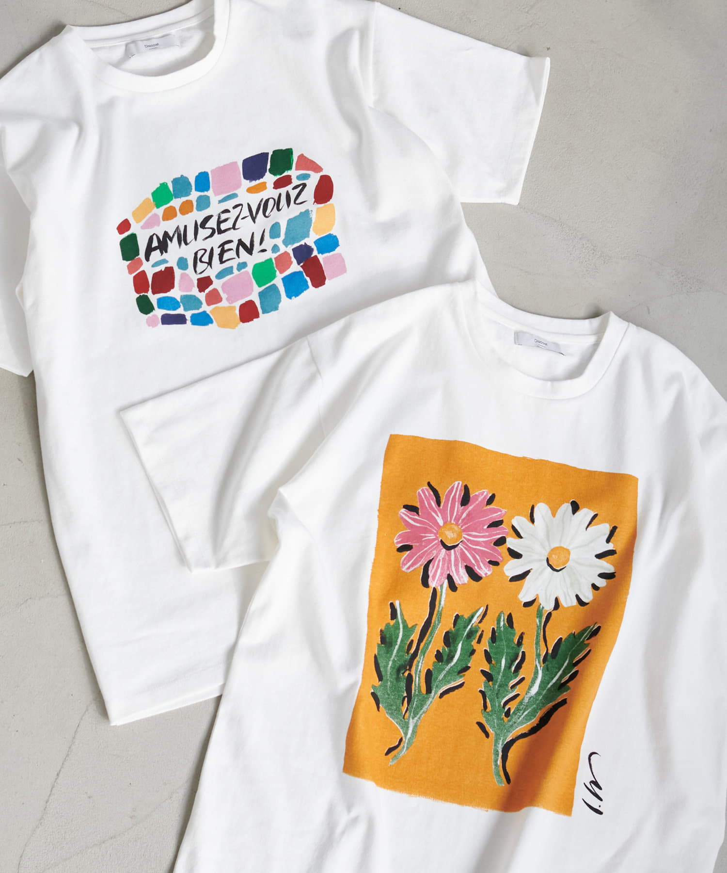 Discoat(ディスコート) LEE IZUMIDA × DISCOAT コラボTシャツ【ユニセックス】