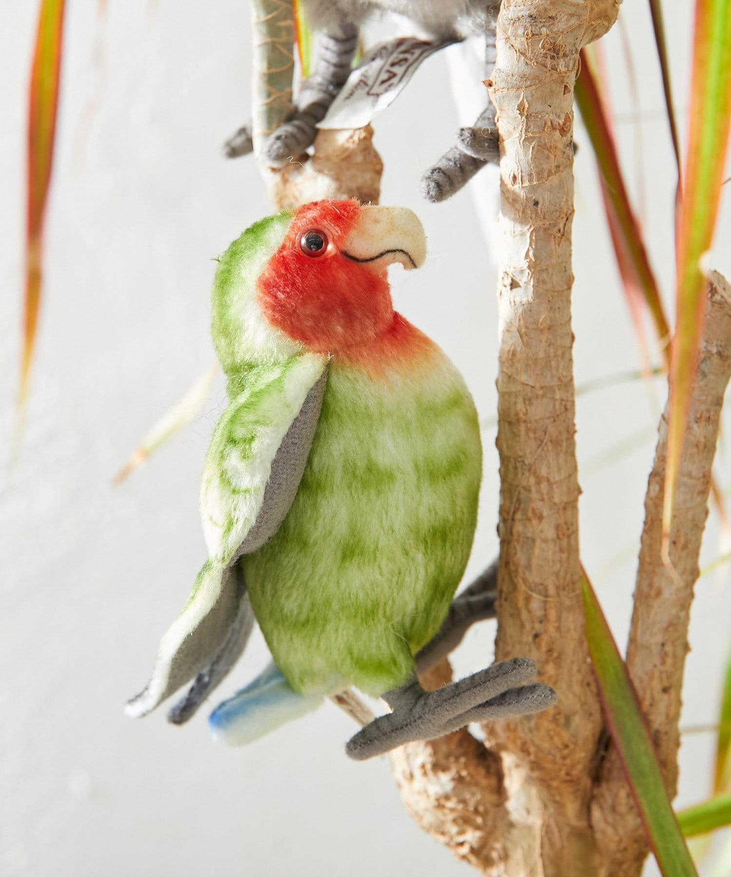 BONbazaar(ボンバザール) ライフスタイル 【HANSA】コザクラインコ R FACEDL BIRD カラーなし
