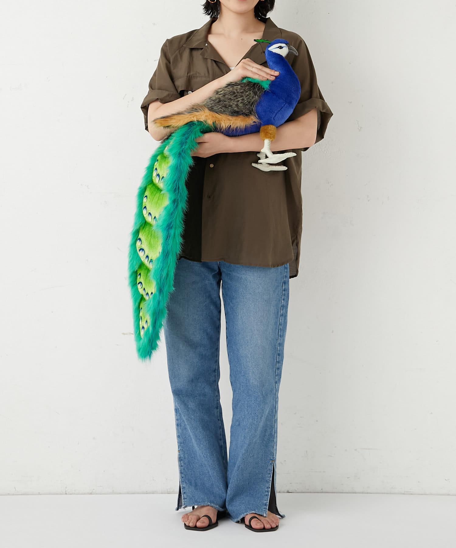 BONbazaar(ボンバザール) ライフスタイル 【HANSA】クジャク PEACOCK カラーなし