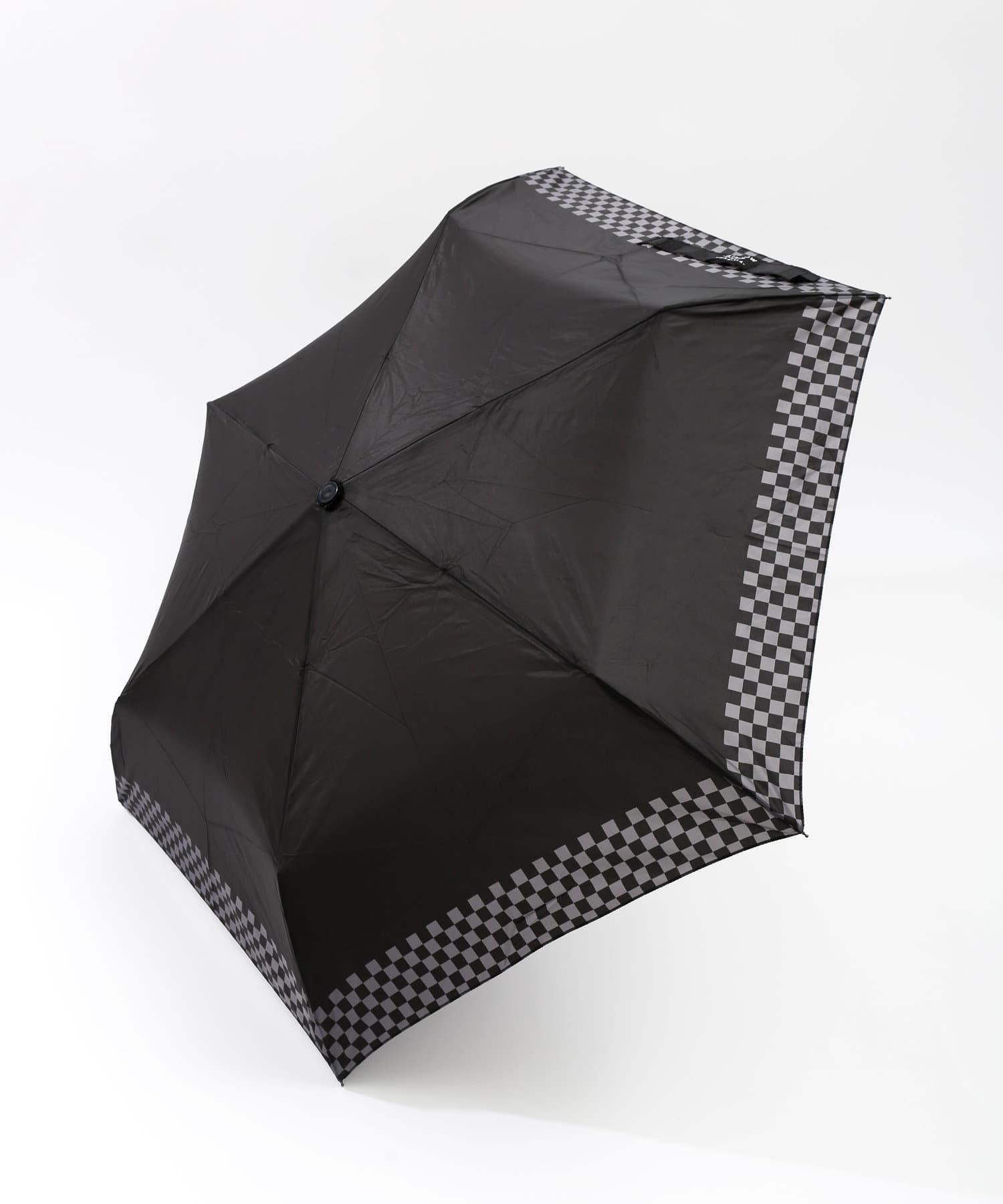 ASOKO(アソコ) 《WEB限定》カラビナ付折り畳み傘ブロックチェック