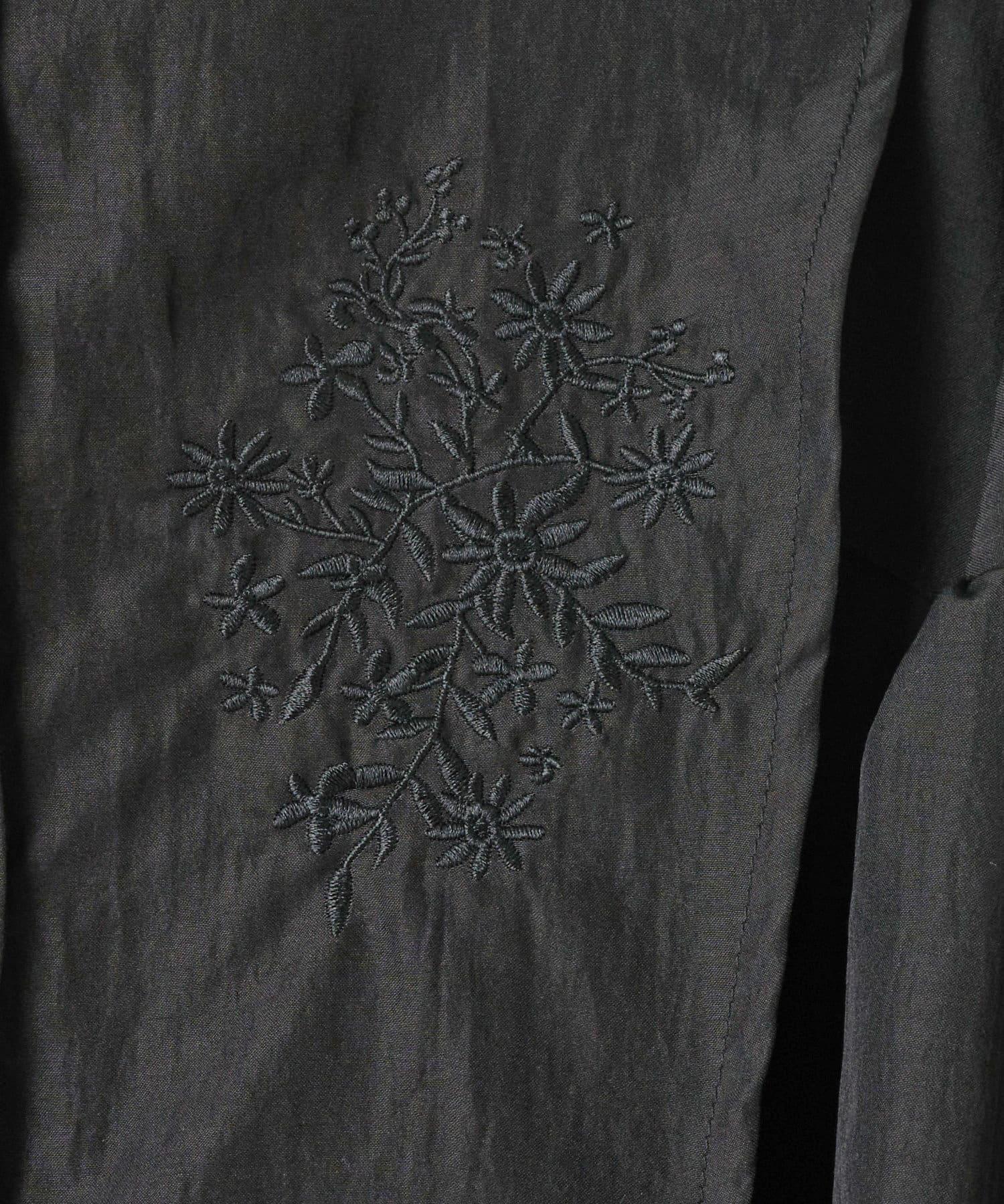 OLIVE des OLIVE OUTLET(オリーブ・デ・オリーブ アウトレット) 刺繍レイヤードワンピース