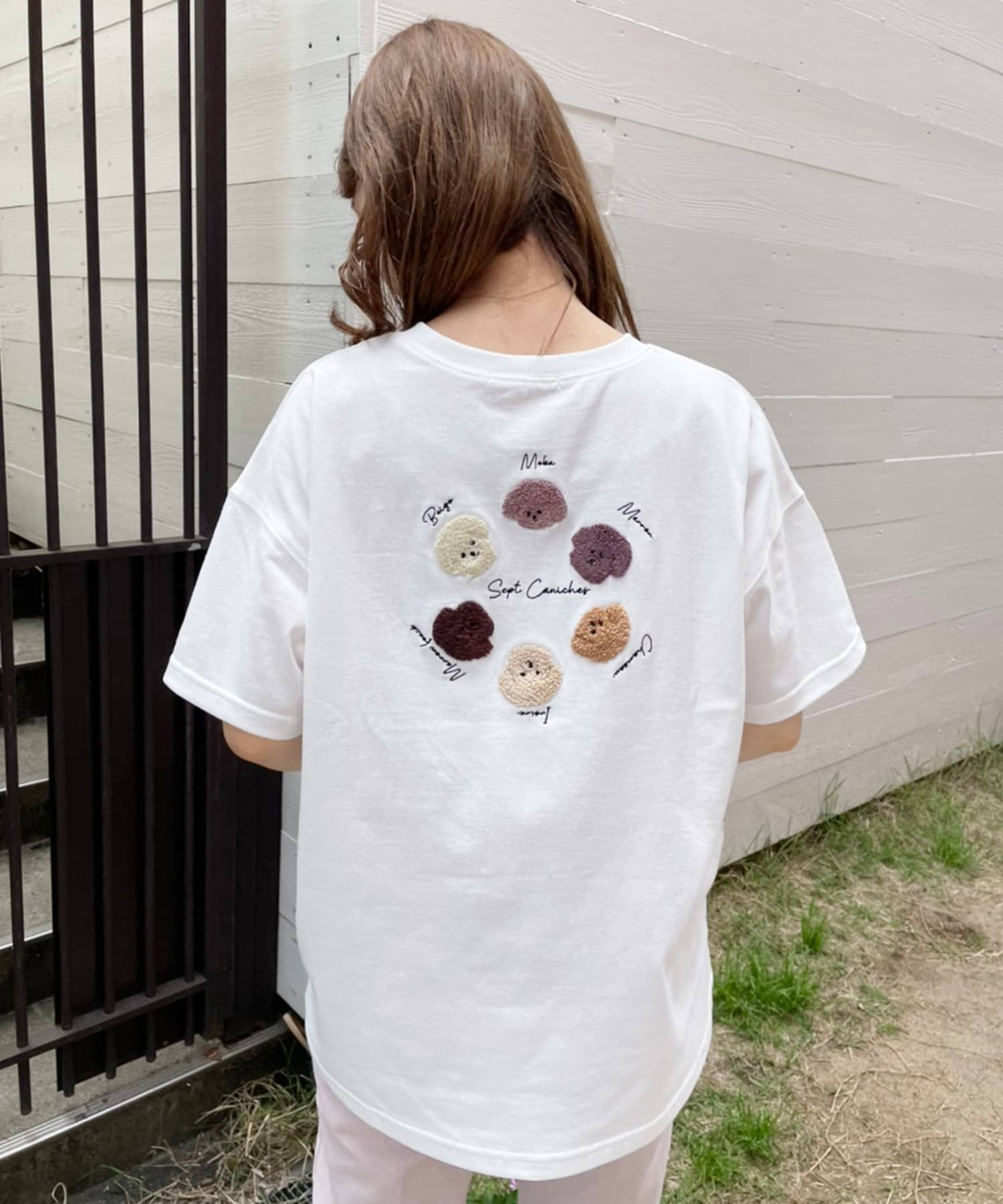 one after another NICE CLAUP(ワンアフターアナザー ナイスクラップ) アソ―トビッグTシャツ
