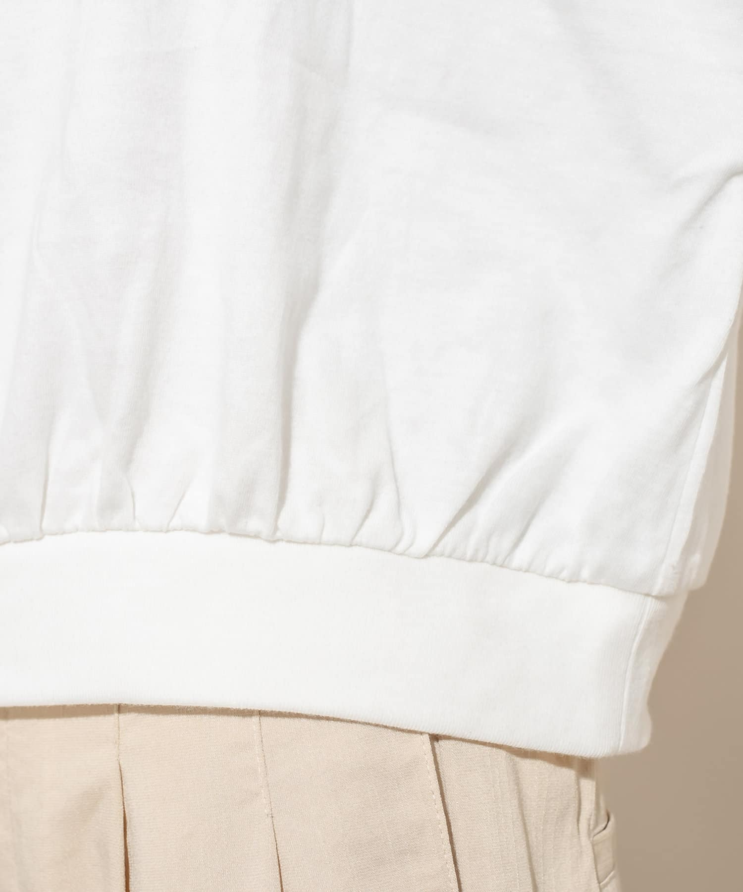 mystic(ミスティック) [mline] WEB限定 刺繍ボリュームTシャツ