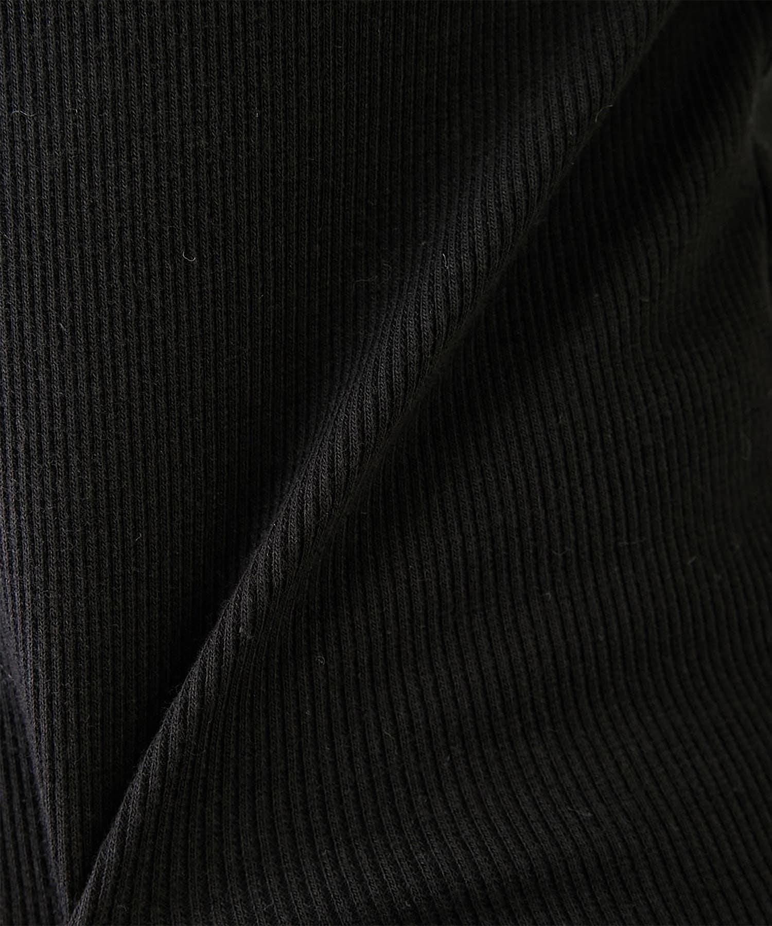 GALLARDAGALANTE(ガリャルダガランテ) スクエアネックリブカットソー【オンラインストア限定商品】