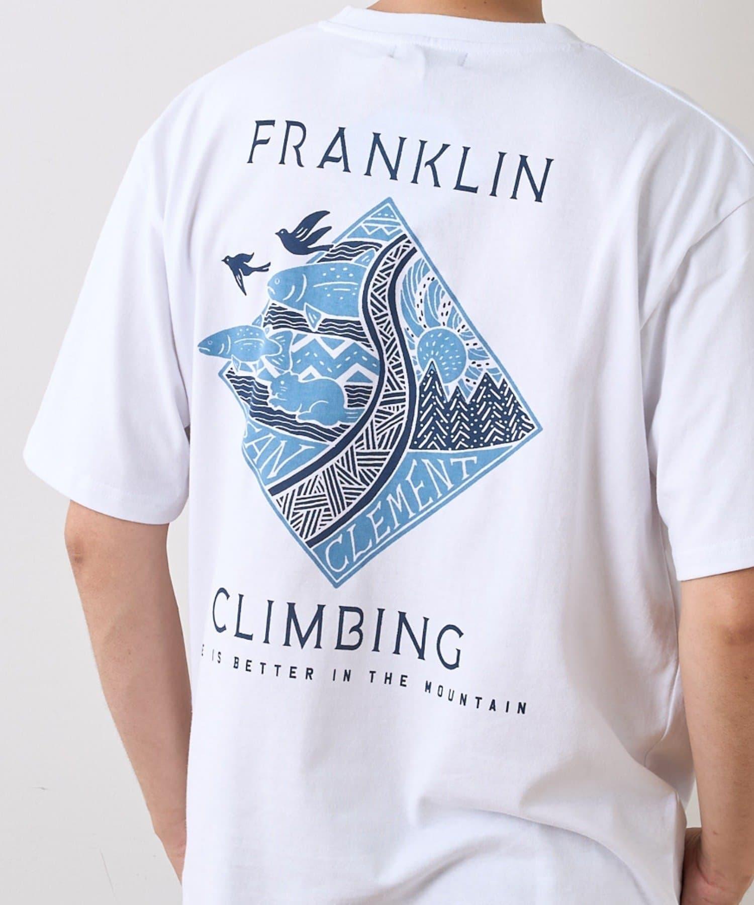 CIAOPANIC TYPY(チャオパニックティピー) 【Franklin Climbing】グラフィックTEE