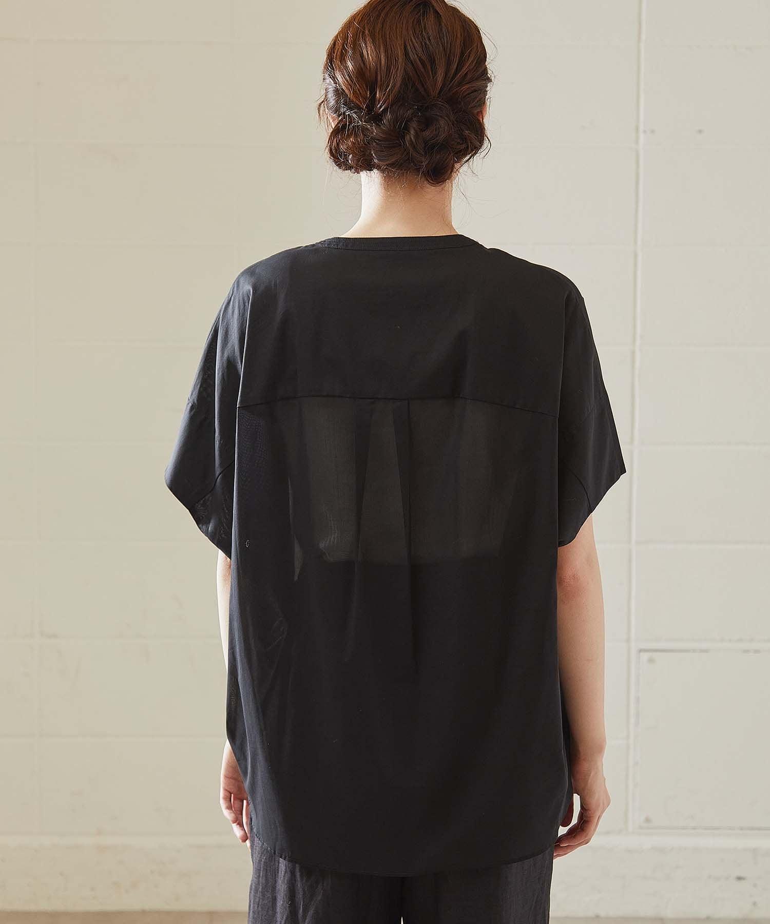 OUVRAGE CLASSE(ウヴラージュクラス) クリアボイルカフタンシャツ