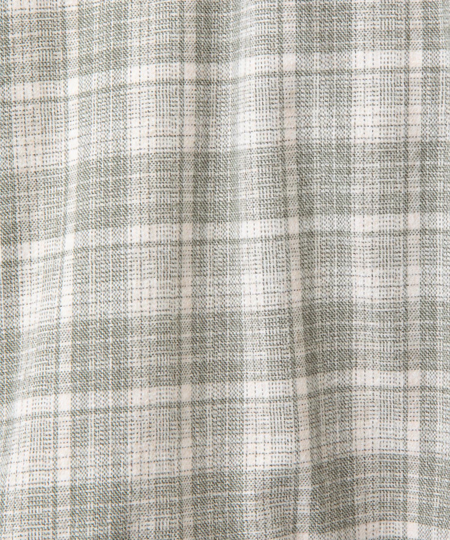 GALLARDAGALANTE(ガリャルダガランテ) 【HERITANOVUM】オーバーチェックシャツワンピース