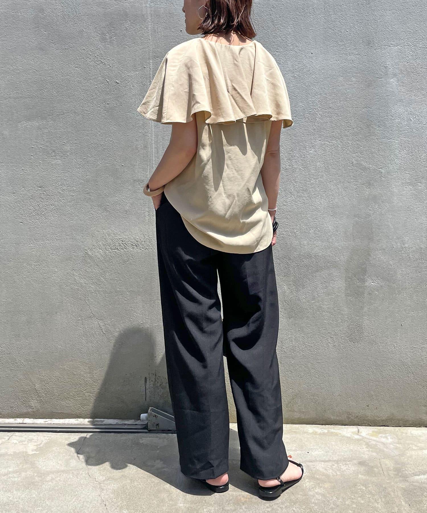 Omekashi(オメカシ) ダブルタックパンツ