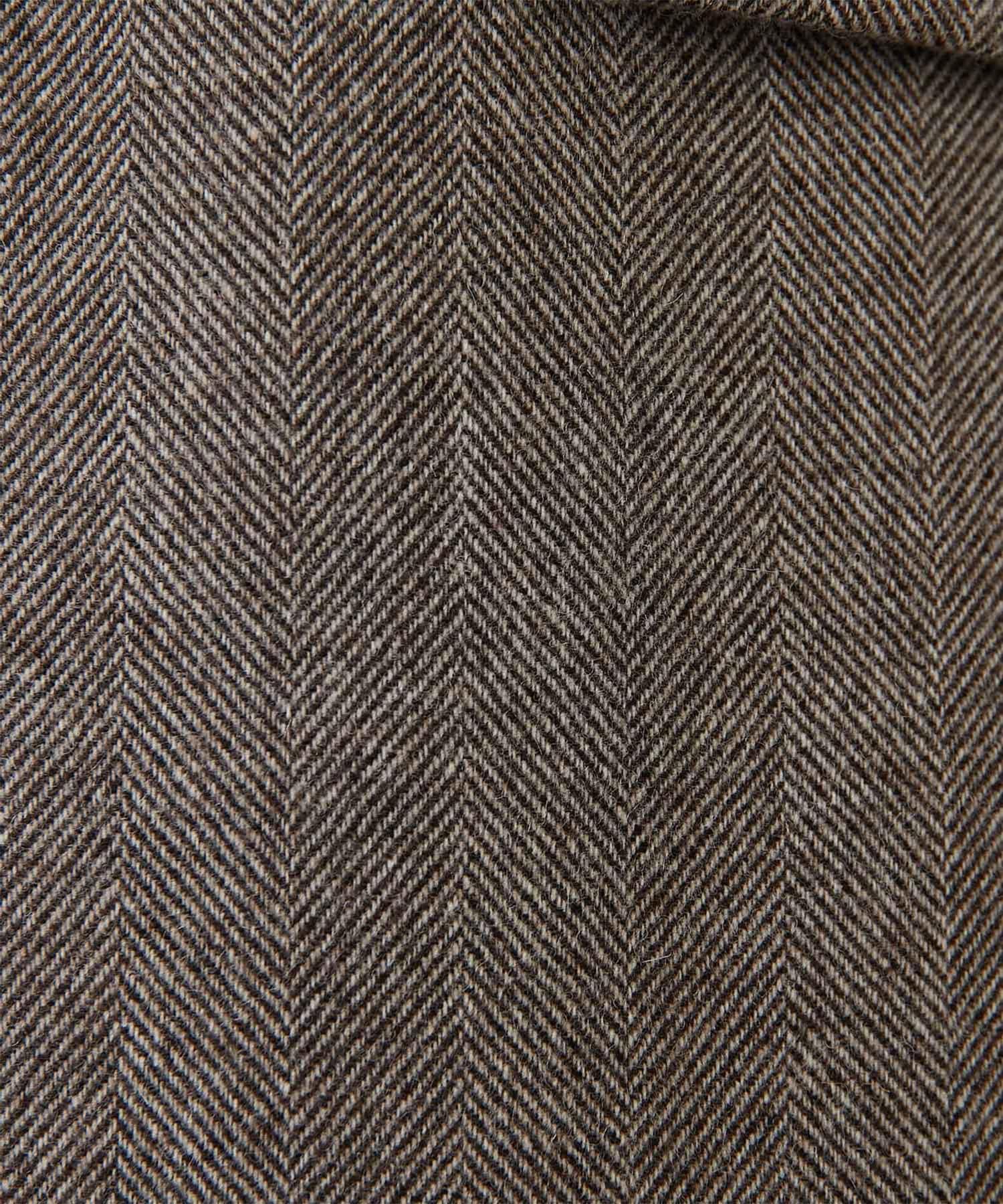 Whim Gazette(ウィム ガゼット) 【長谷川京子さんコラボ】ヘリンボーンテーラードジャケット