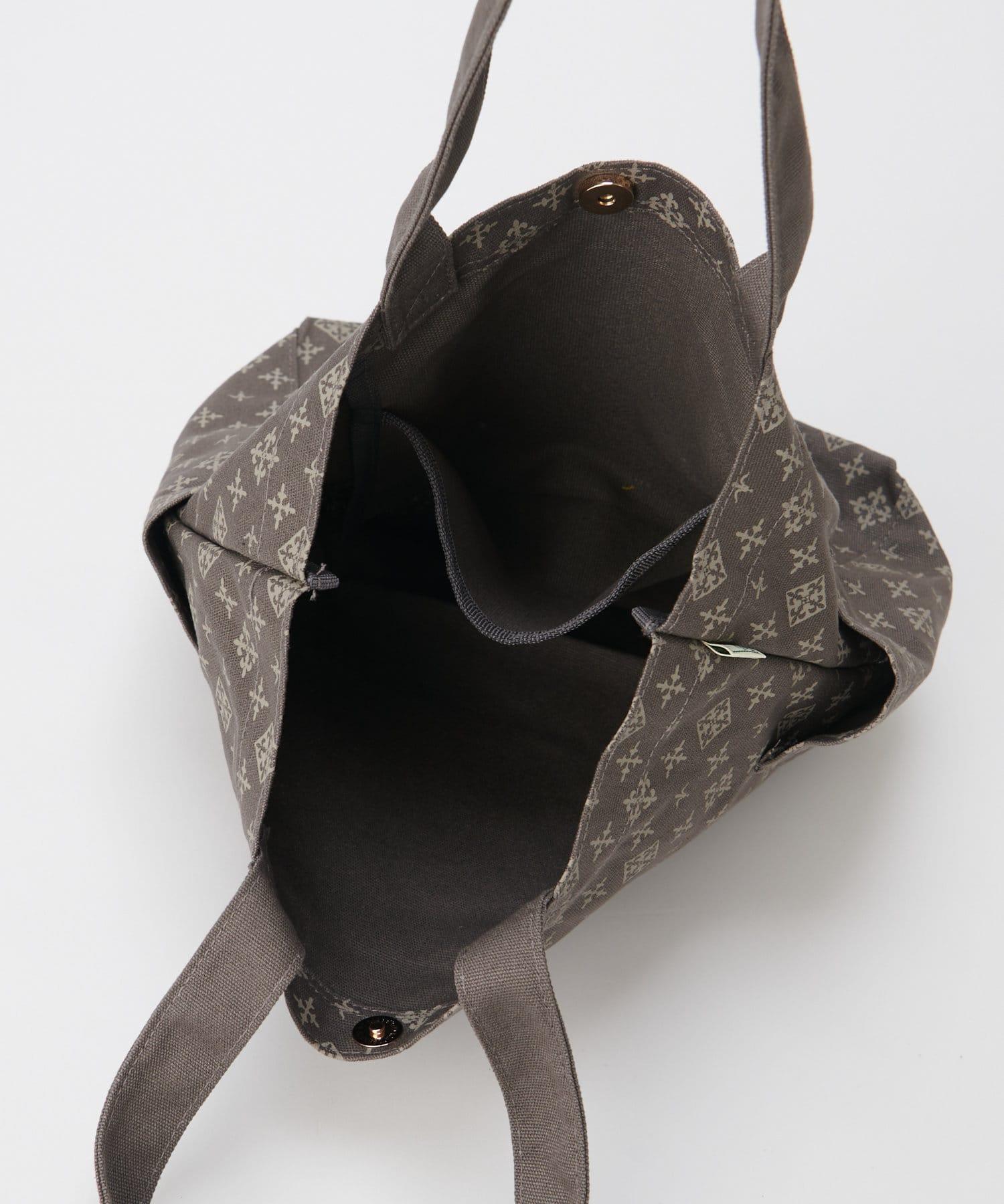 Daily russet(デイリー ラシット) コットン サイドポケットトートバッグ