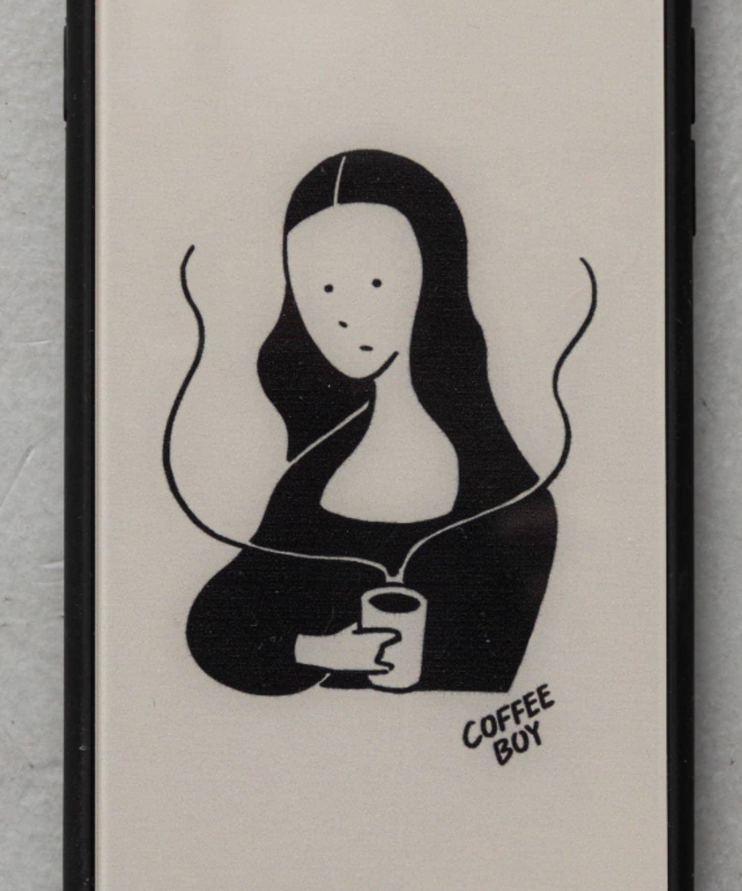 BIRTHDAY BAR(バースデイバー) レディース 【受注予約】COFFEE BOY iPhoneケース ベージュ系その他