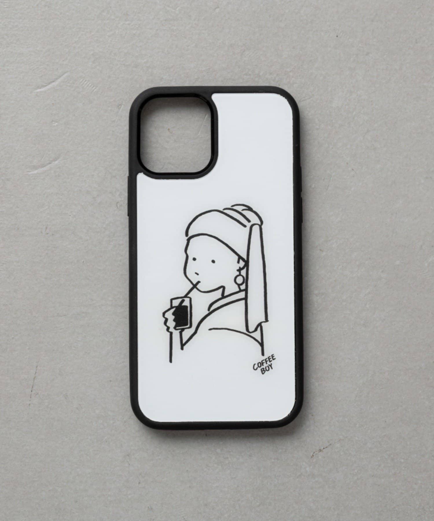 BIRTHDAY BAR(バースデイバー) レディース 【受注予約】COFFEE BOY iPhoneケース アイボリー