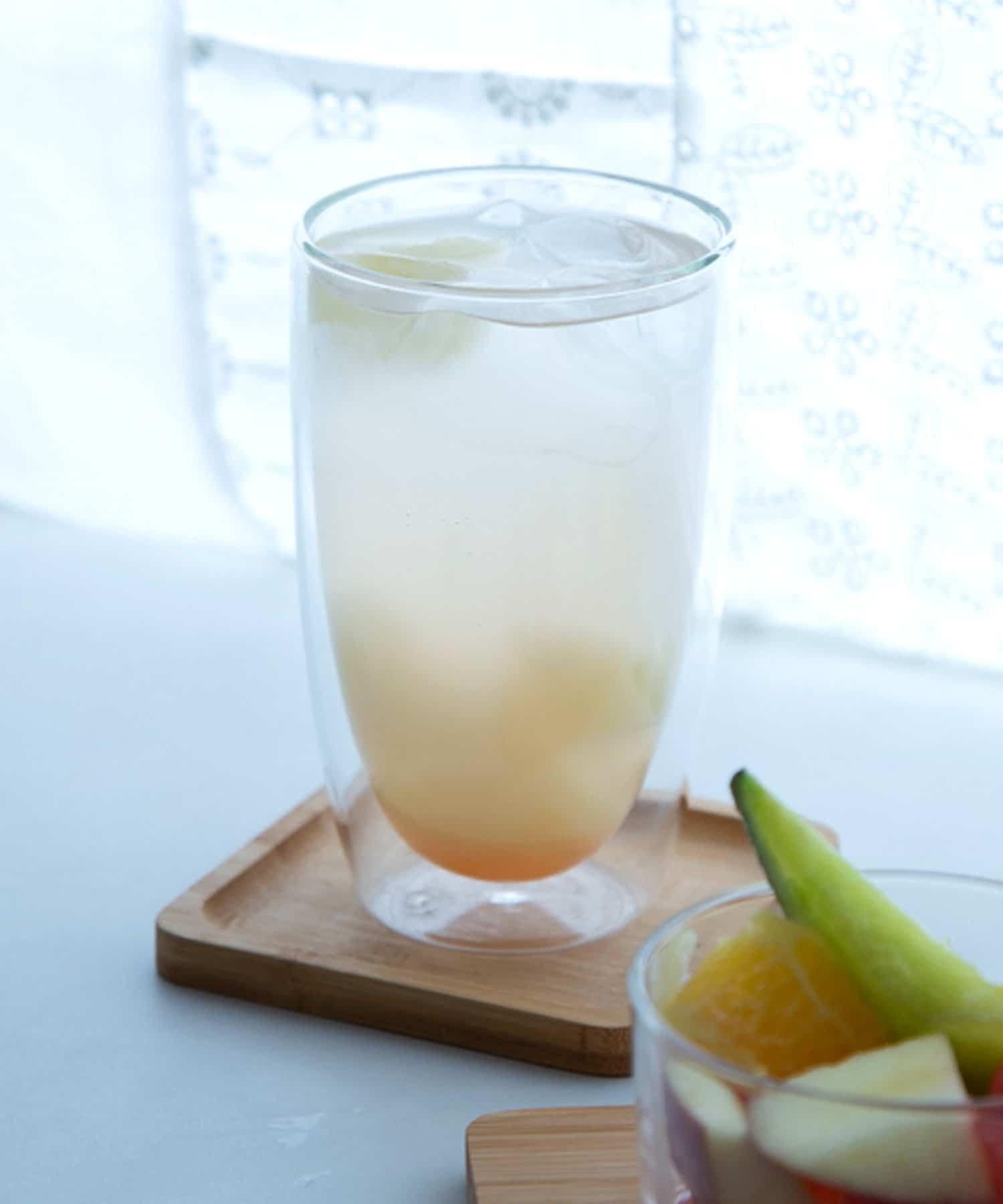3COINS(スリーコインズ) 【季節を楽しむおうちカフェ】ダブルウォールグラス