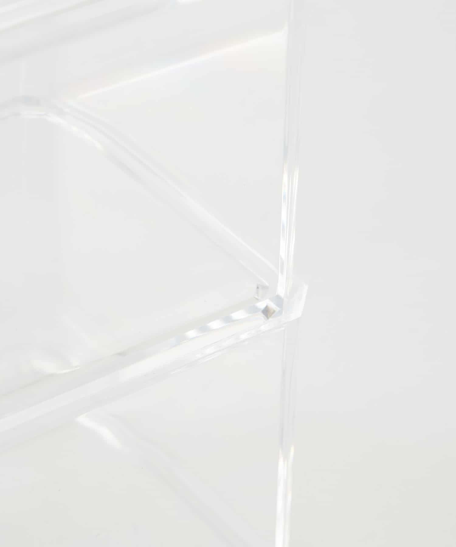 3COINS(スリーコインズ) 【and us】クリアコットンケース