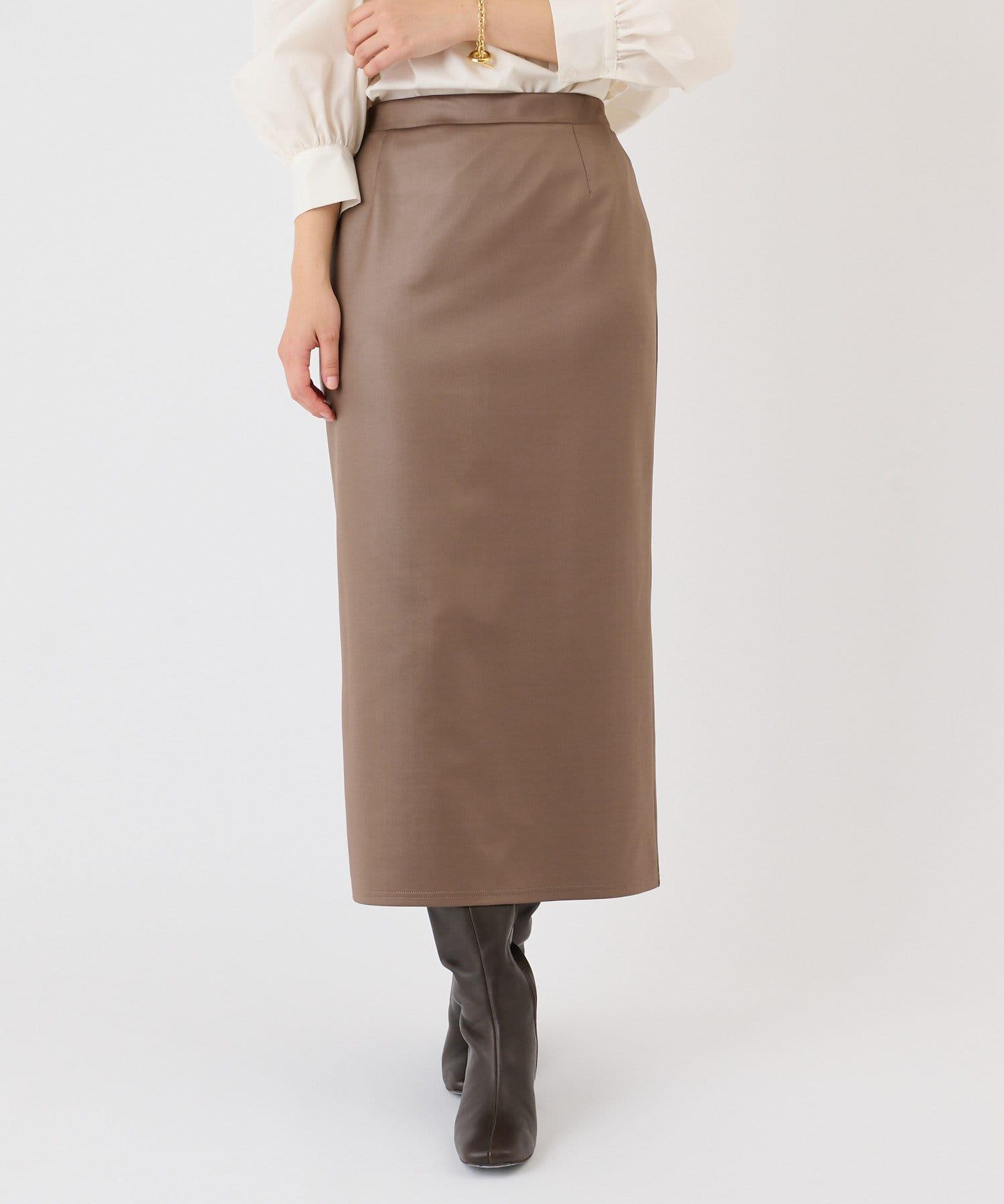 COLLAGE GALLARDAGALANTE(コラージュ ガリャルダガランテ) レザーカットスカート