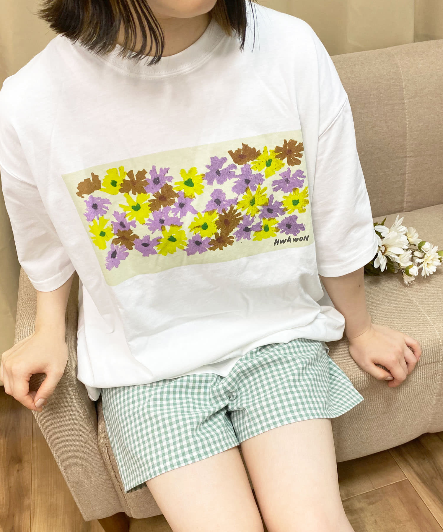 Lattice(ラティス) 《HWAWONコラボ》Tシャツ