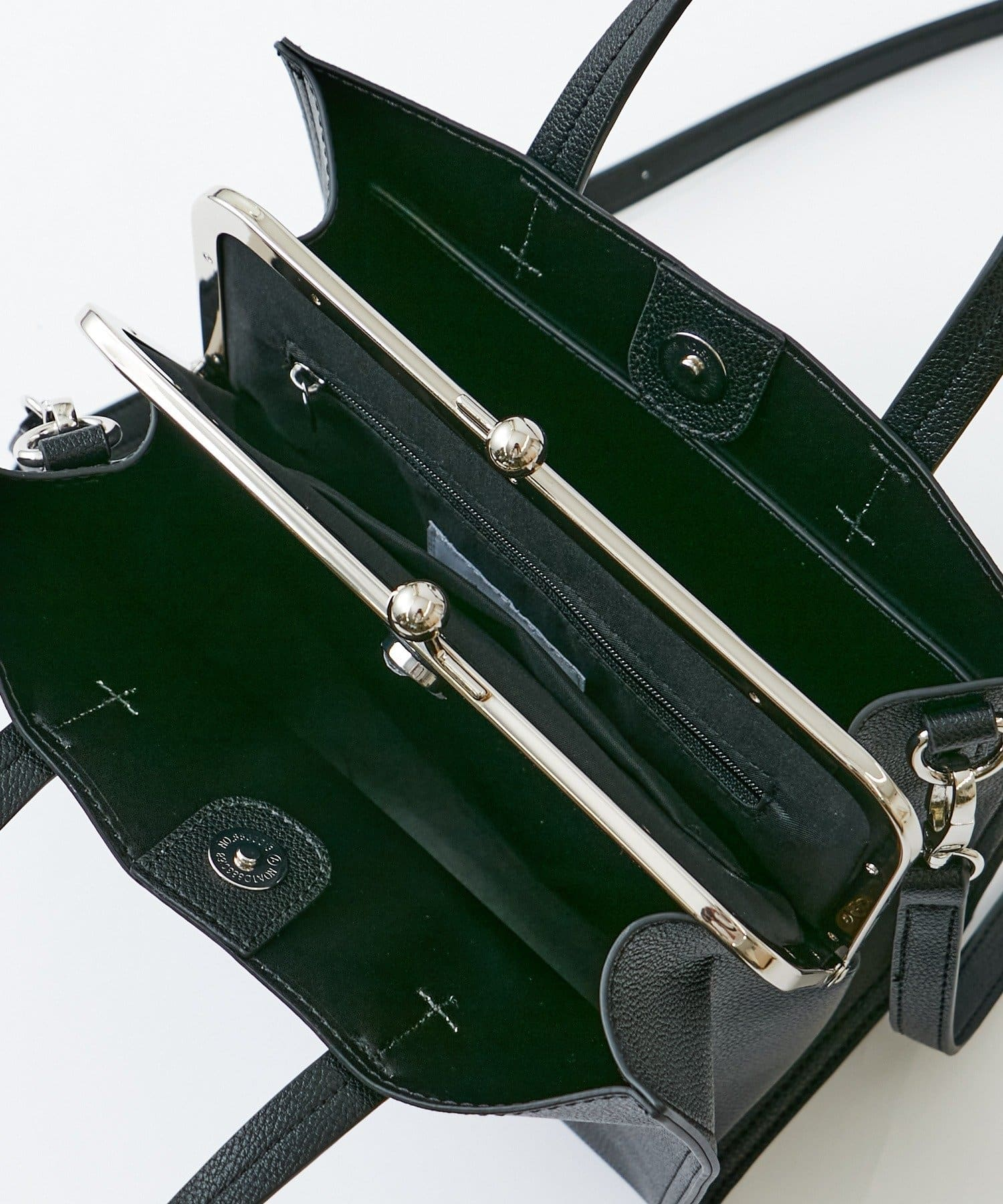 COLONY 2139(コロニー トゥーワンスリーナイン) がま口トートバッグ/ショルダーバッグ