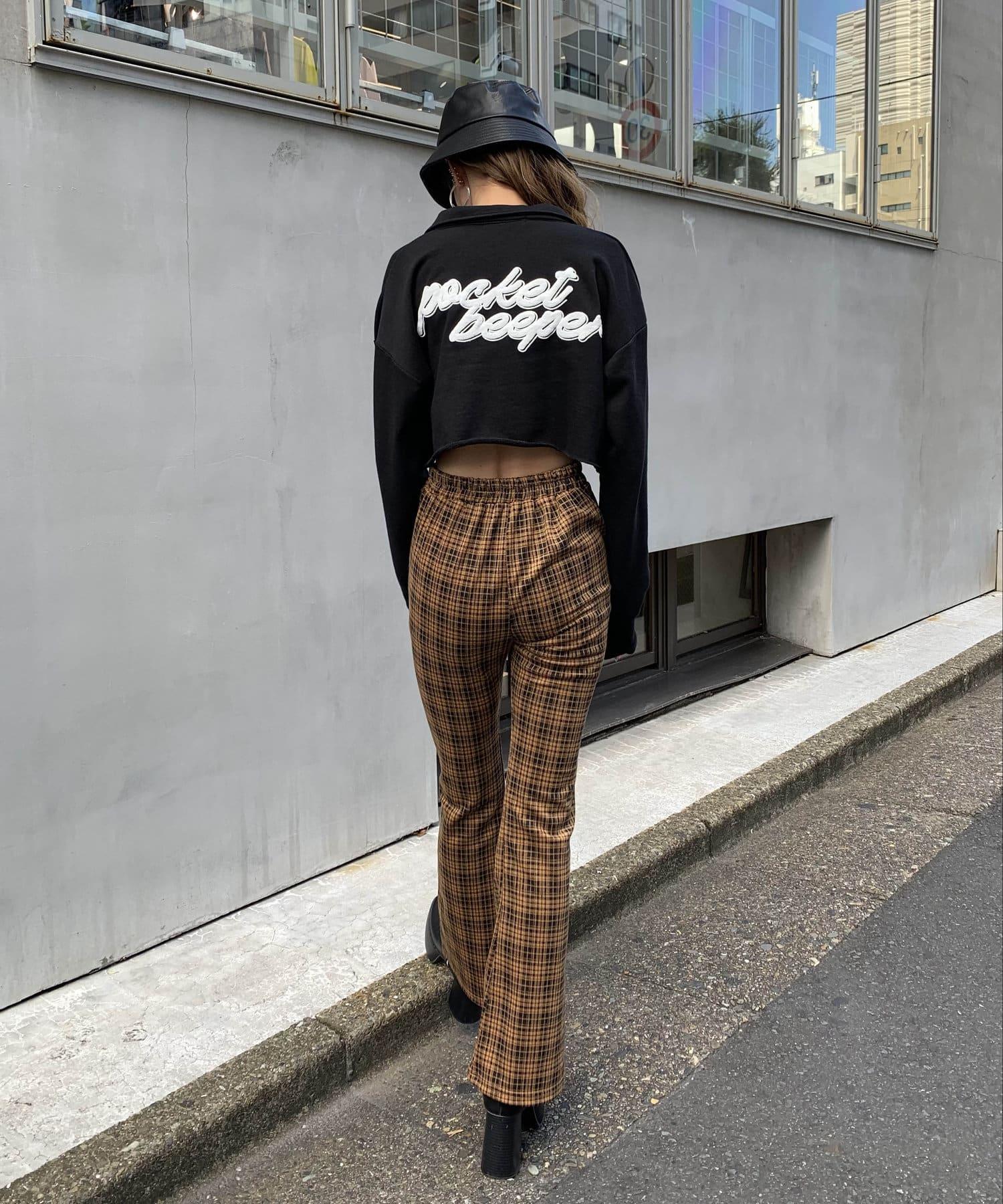 RASVOA(ラスボア) カットオフクロップドシャツ
