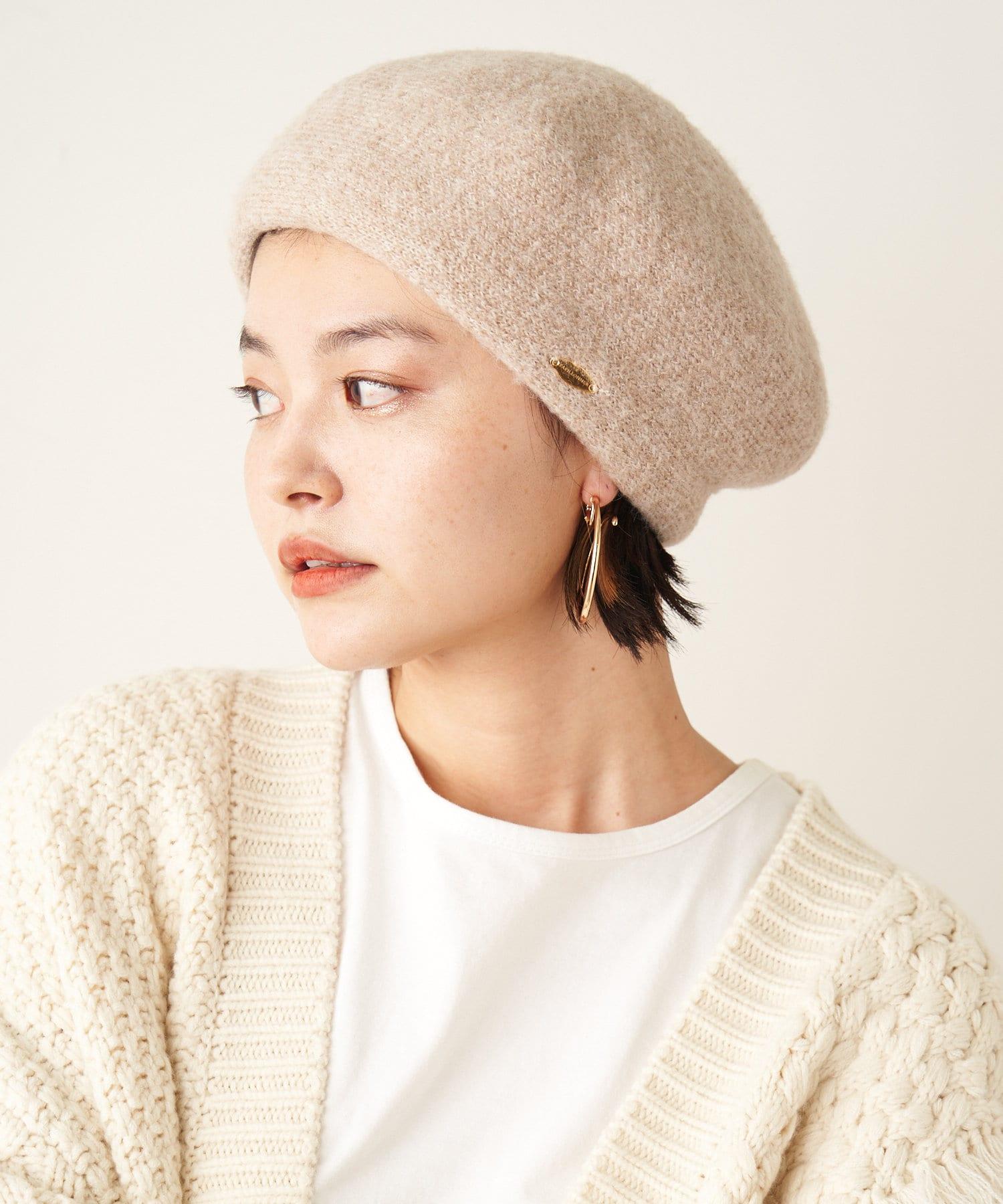 COLLAGE GALLARDAGALANTE(コラージュ ガリャルダガランテ) 【PAPILLONNER/パピヨネ】ソフトベレー帽