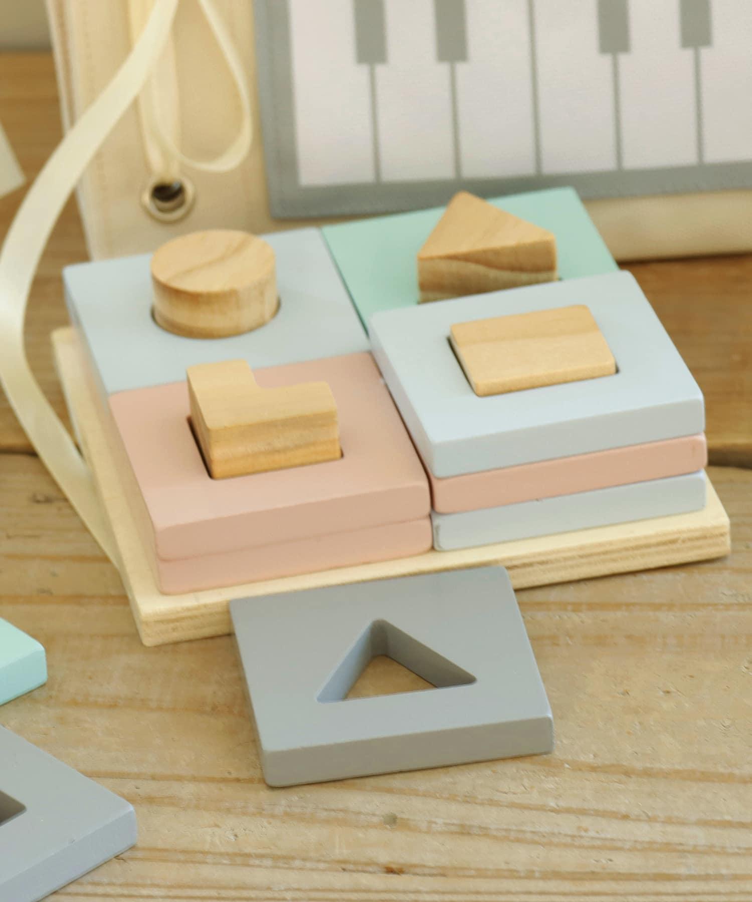 3COINS(スリーコインズ) 【楽しく学ぼう】積み木パズル