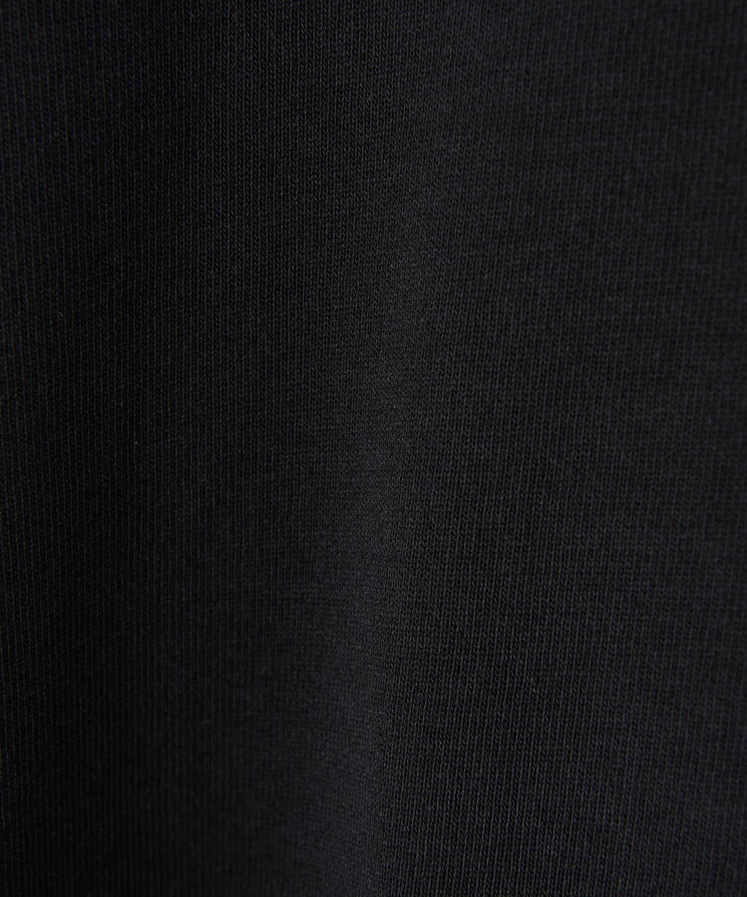 CIAOPANIC(チャオパニック) スリット入りデラヴェハイネックロングスリーブTシャツ