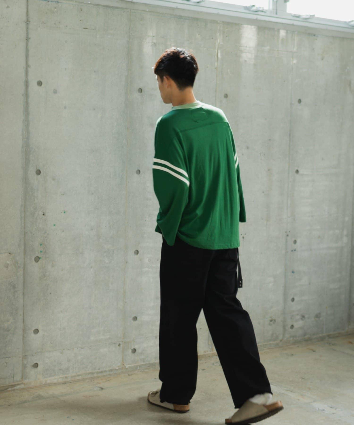 Kastane(カスタネ) 【WHIMSIC】RAYON PLATING FOOT BALL TEE