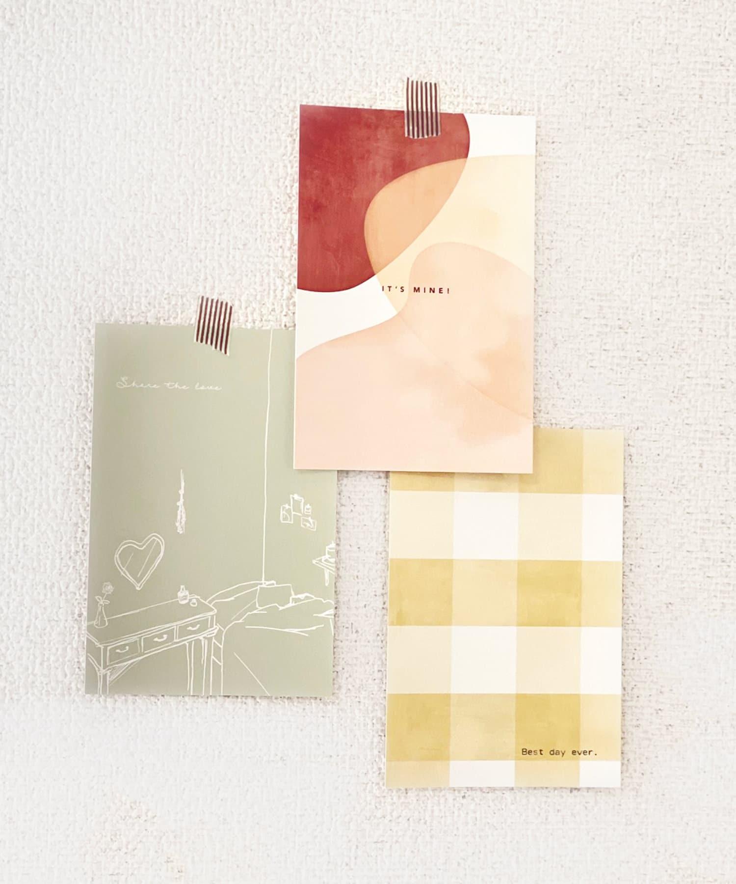 ASOKO(アソコ) ライフスタイル 【fem fem fem】ポストカード3枚セット その他1