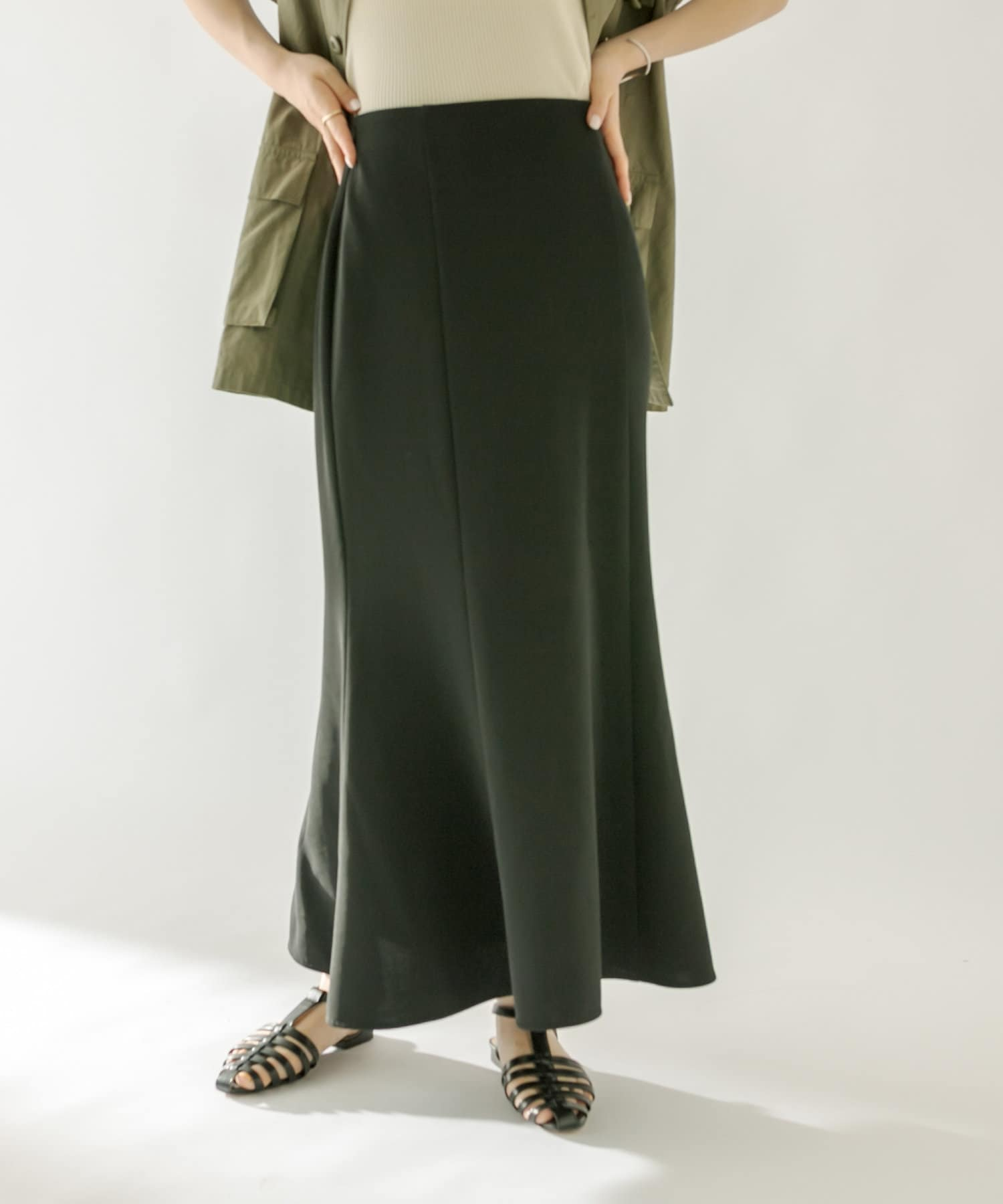 mystic(ミスティック) ストレッチマーメイドスカート