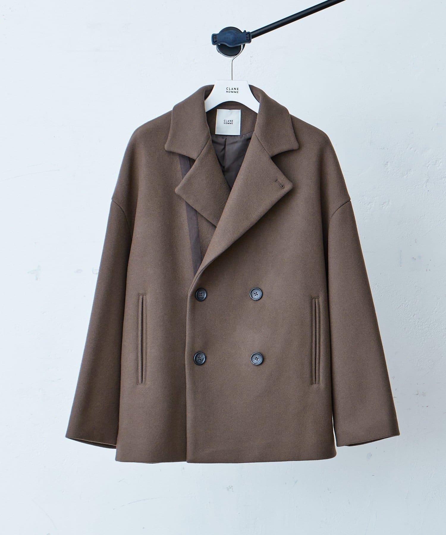 Lui's(ルイス) 【CLANE HOMME Exclusive】Short Double Coat