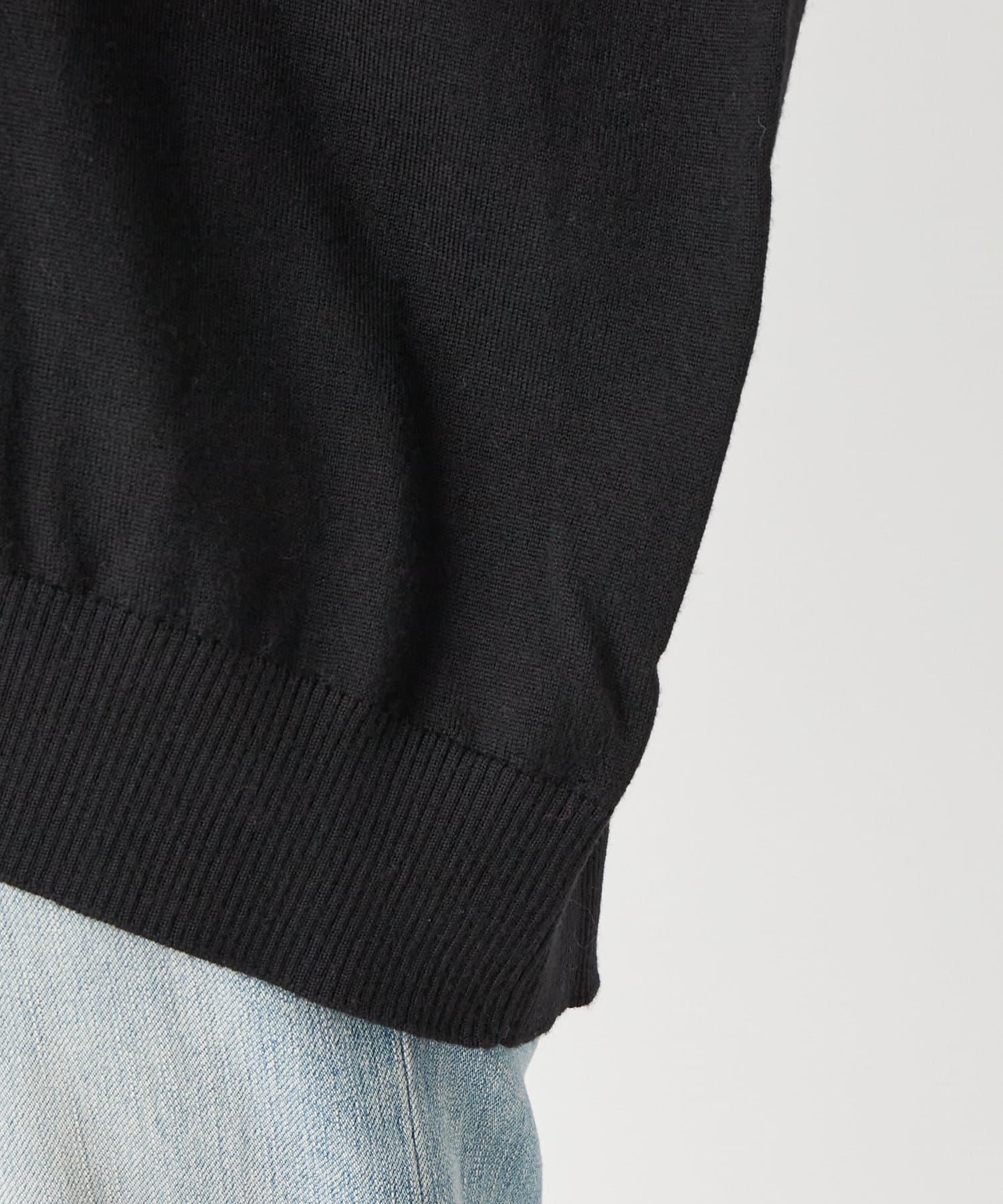 La boutique BonBon(ラブティックボンボン) 【COZスタイル・リラクシー・手洗い可】ウールカシミヤコクーンニット