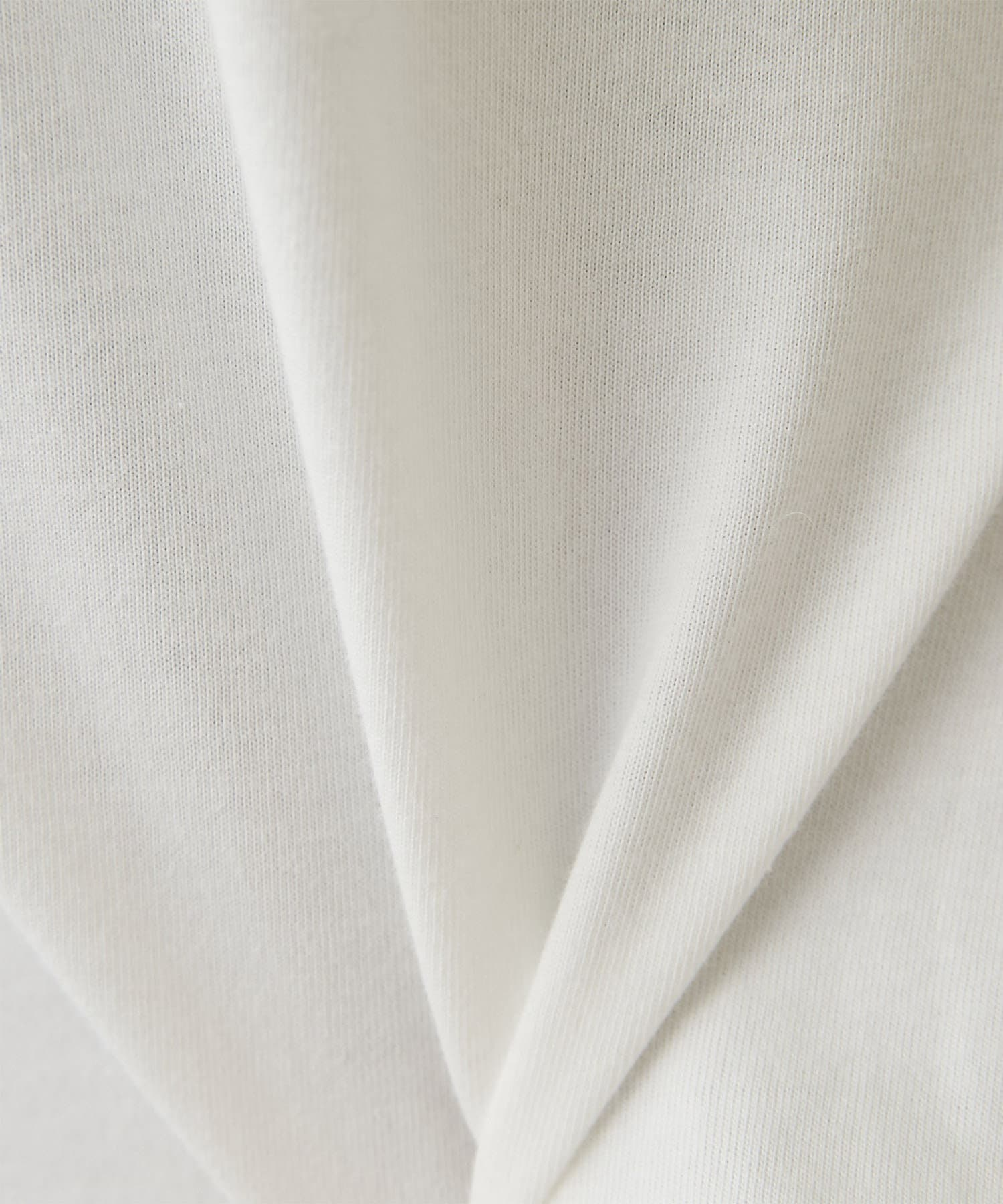 GALLARDAGALANTE(ガリャルダガランテ) オーガニックコットンスリットTシャツ