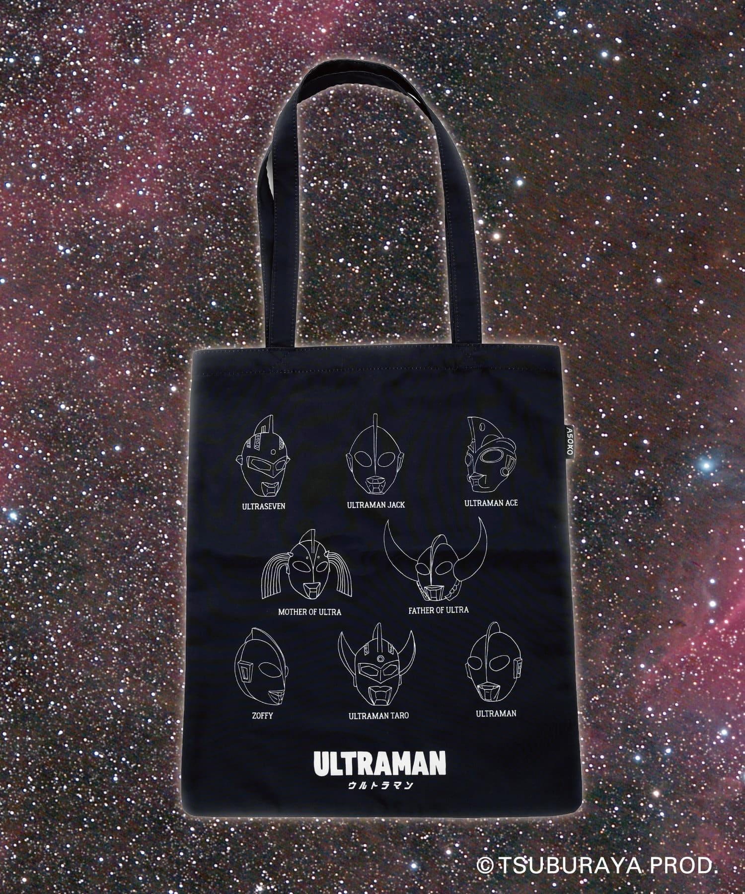 3COINS(スリーコインズ) 【ASOKO】【ウルトラマンシリーズ】トートバッグ
