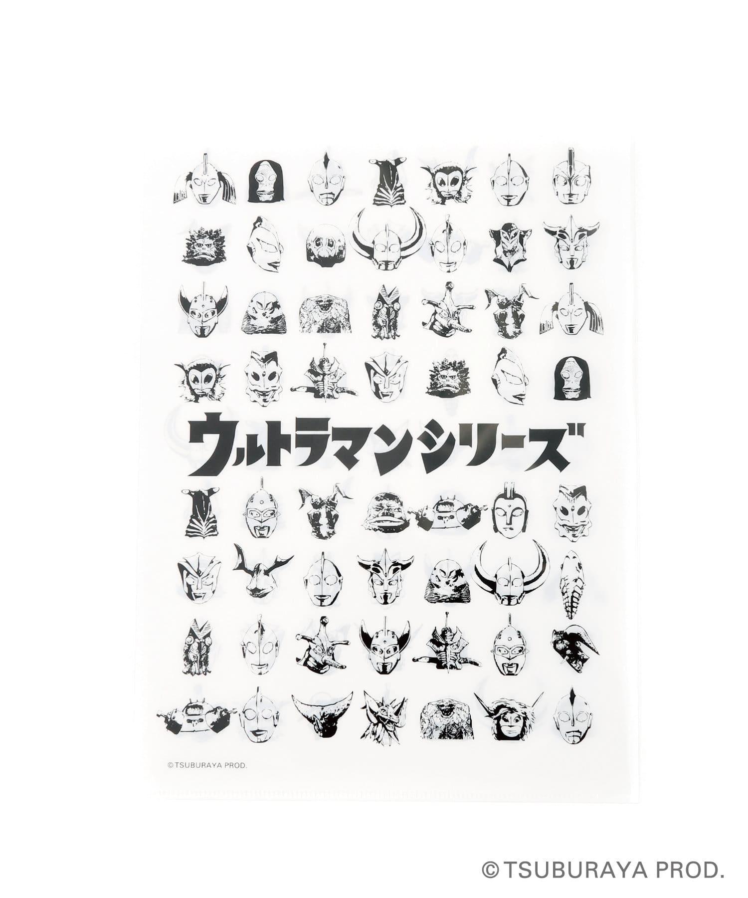 3COINS(スリーコインズ) 【ASOKO】【ウルトラマンシリーズ】クリアファイル4枚セット