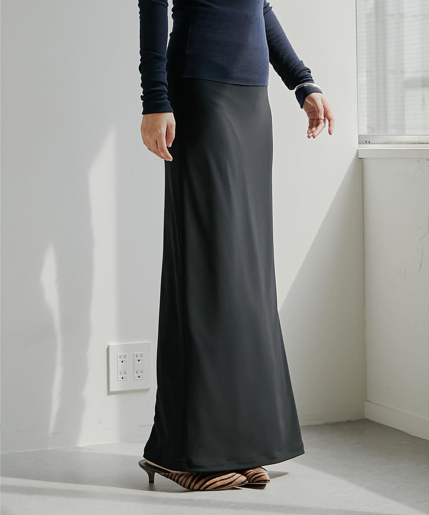 Whim Gazette(ウィム ガゼット) 【長谷川京子さんコラボ】スムーススリムスカート