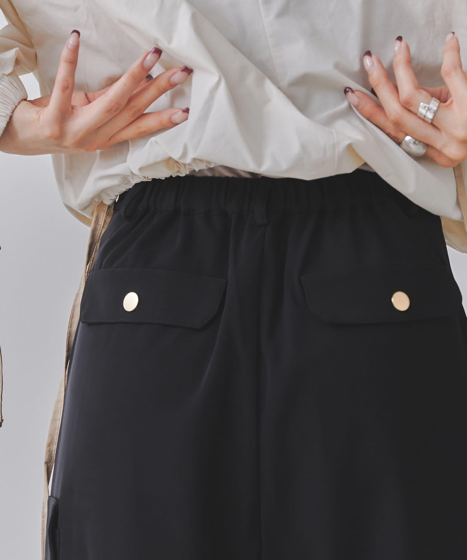 mona Belinda(モナ ベリンダ) 裾絞り2WAYワークパンツ