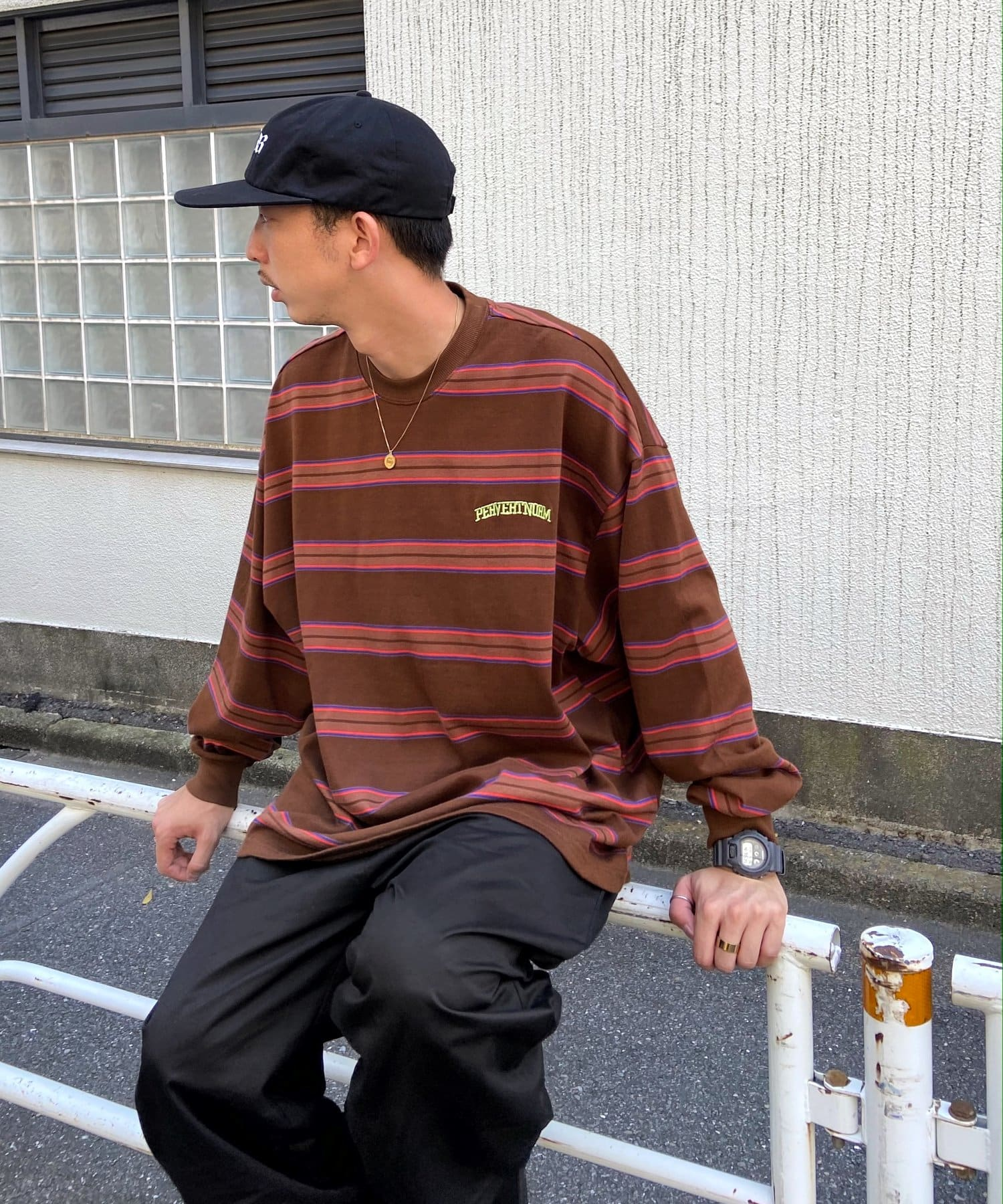 WHO'S WHO gallery(フーズフーギャラリー) 【KOOKY'N/クーキー】マルチボーダーロンT