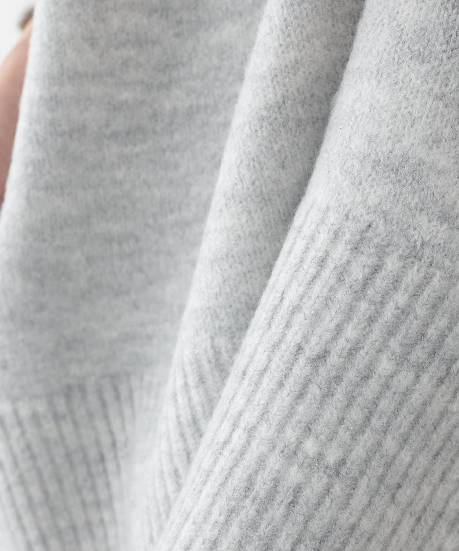 COLLAGE GALLARDAGALANTE(コラージュ ガリャルダガランテ) 【オンラインストア限定】ロンTセットもちもちVネックニット