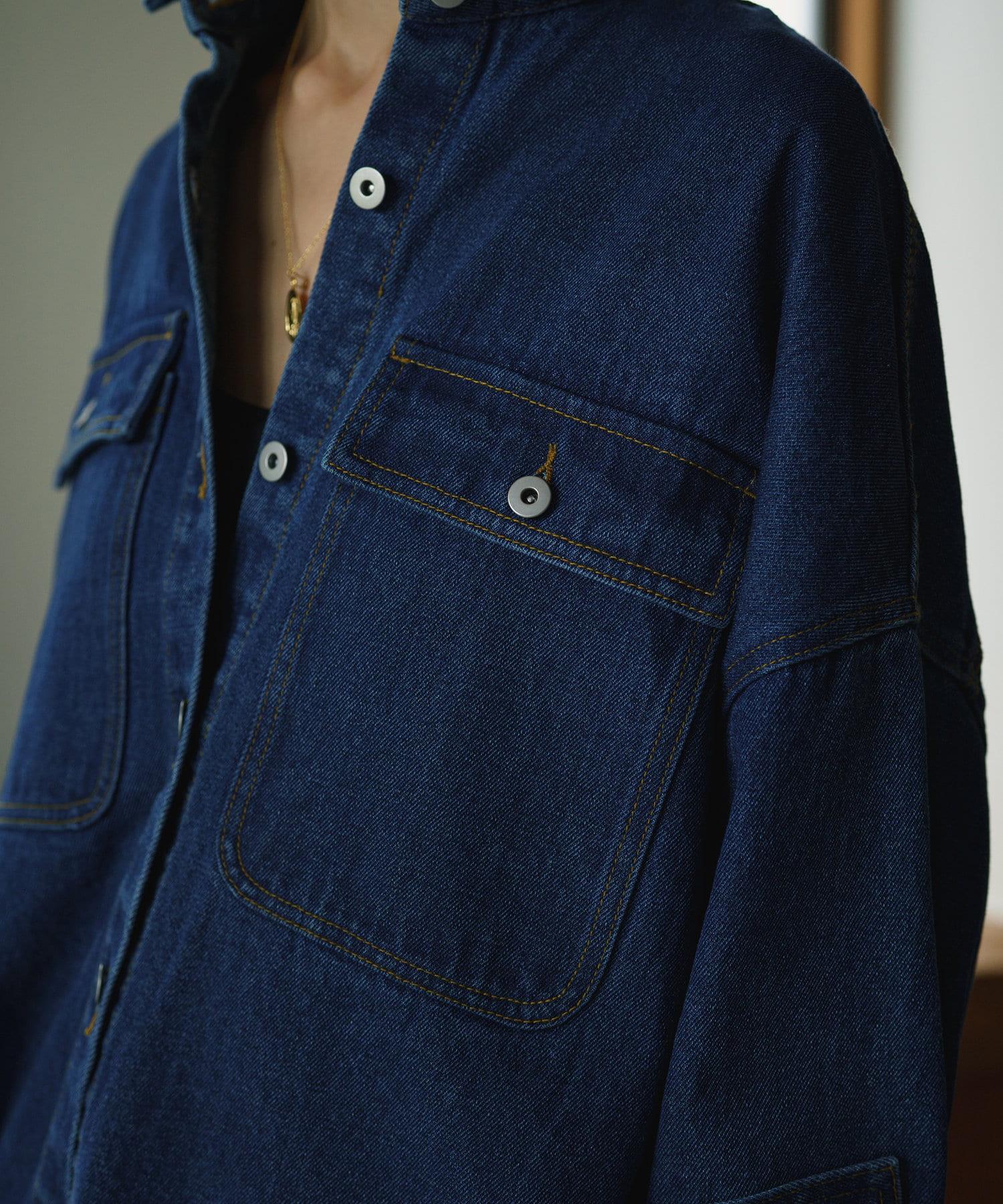 Loungedress(ラウンジドレス) オーバーデニムジャケット
