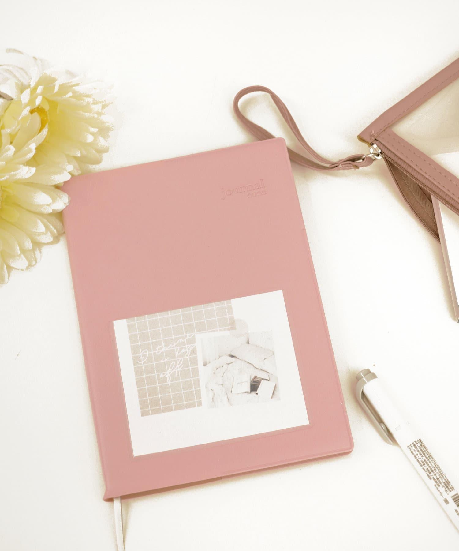 3COINS(スリーコインズ) ライフスタイル 【MY SCHEDULE】 B6サイズポケット付き手帳 ピンク