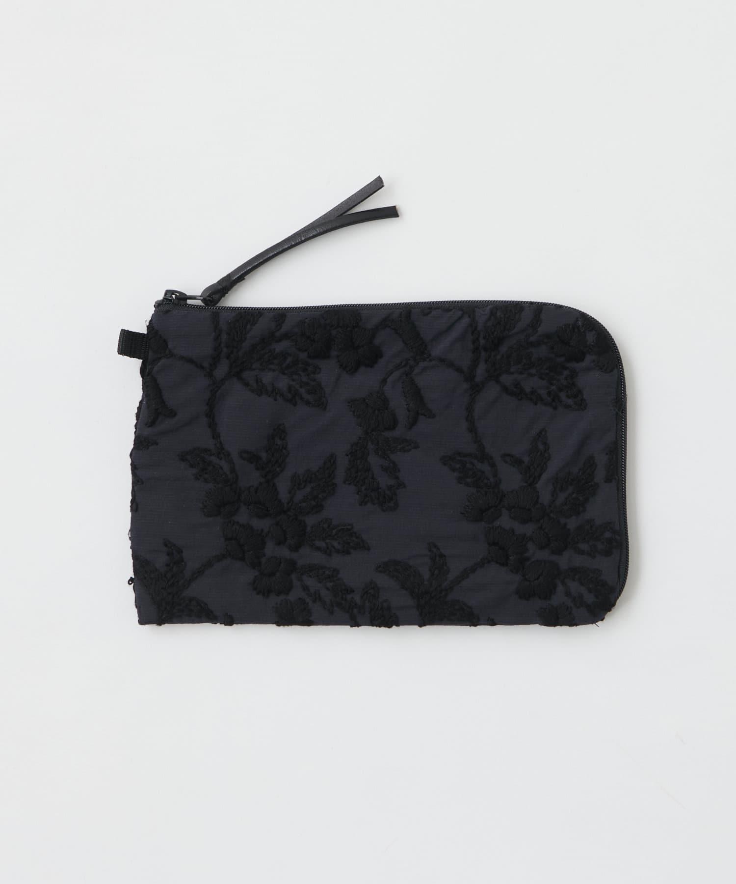 BEARDSLEY(ビアズリー) ライフスタイル 《BA×embroidery》刺繍手帳ポーチ ブラック