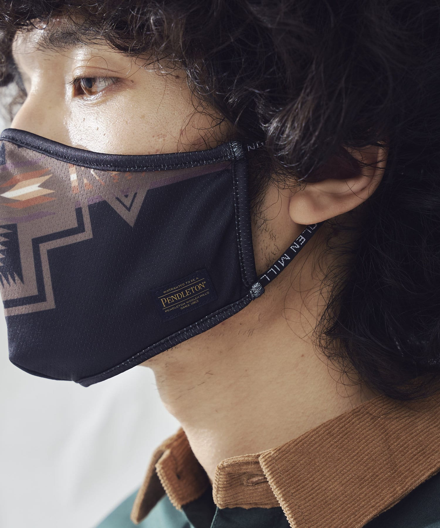 CPCM(シーピーシーエム) 【PENDLETON】メッシュプリントマスク