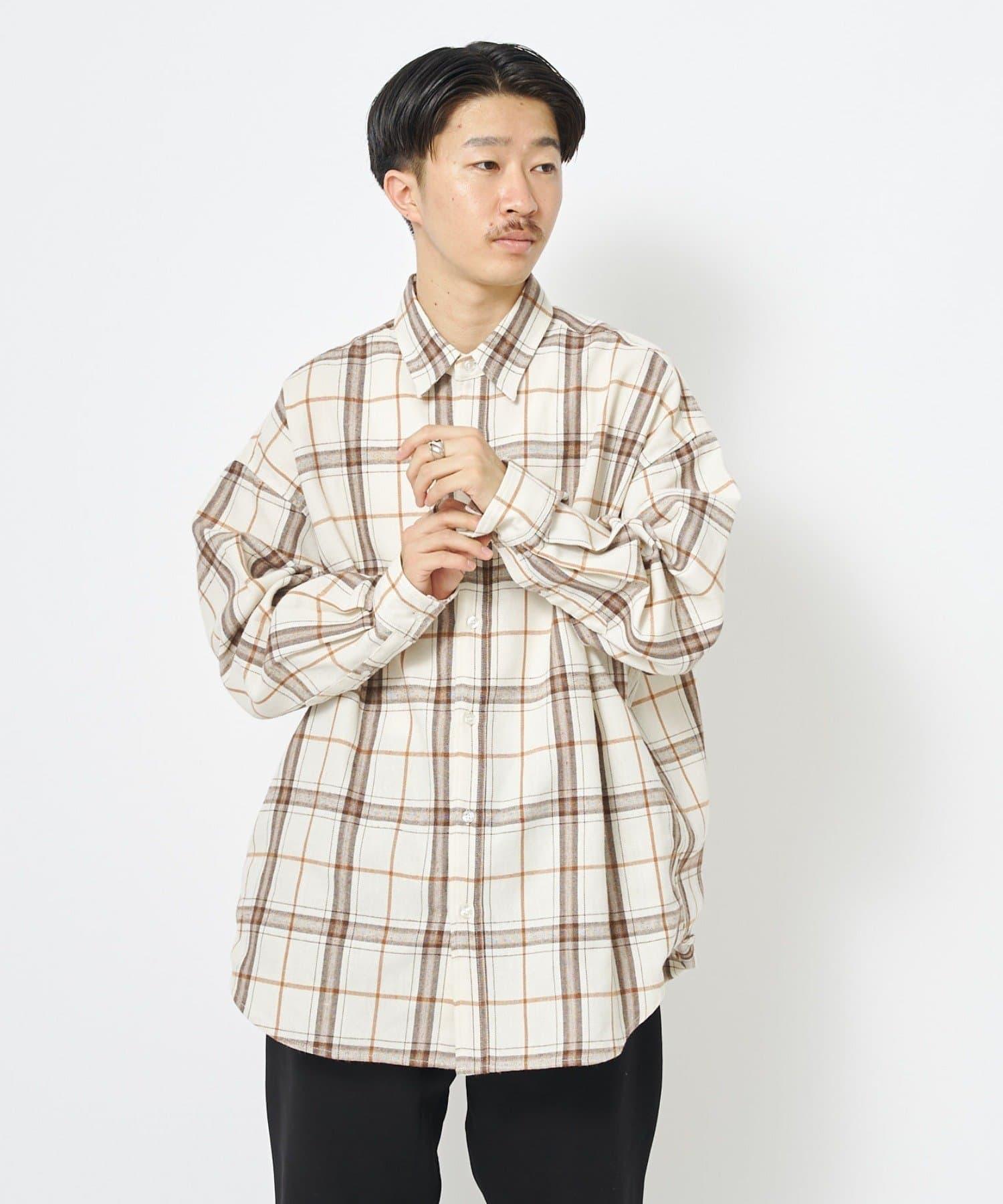 CIAOPANIC(チャオパニック) ビッグシルエットチェックオーバーシャツ